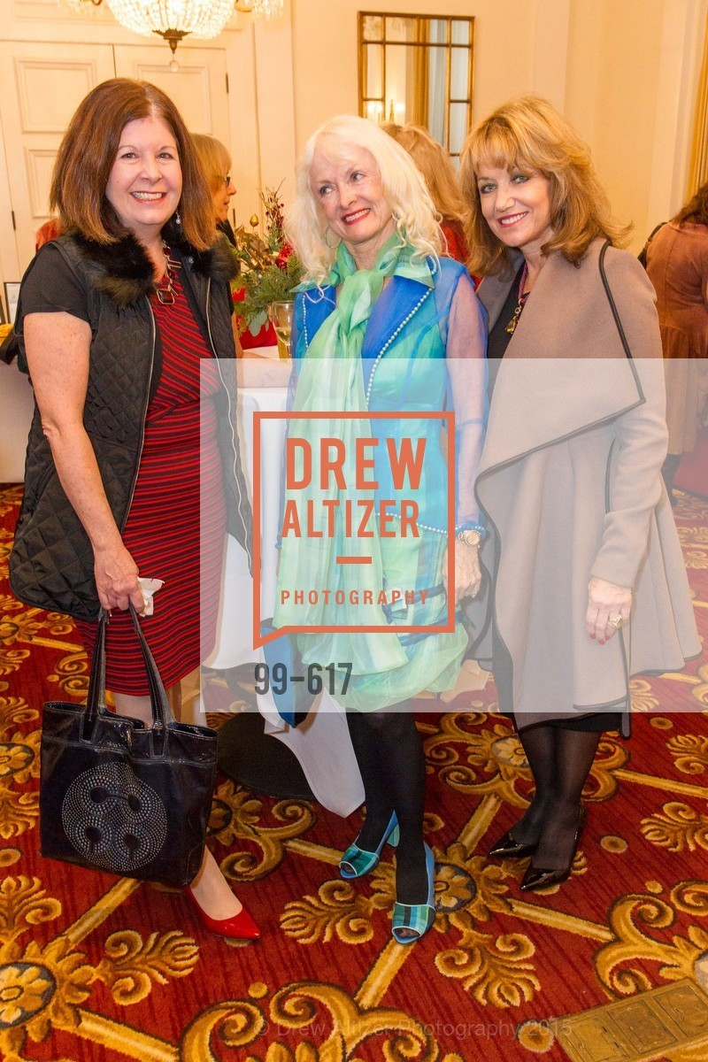 Trish Hurst, Andi Balo Espina, Joanie Girouard, Boy's & Girls' Towns of Italy Holiday Luncheon, The Olympic Club. 524 Post Street, December 3rd, 2015