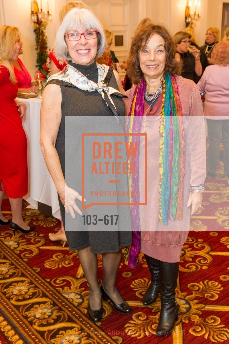 Carol Boyd, Susan Galindo, Boy's & Girls' Towns of Italy Holiday Luncheon, The Olympic Club. 524 Post Street, December 3rd, 2015,Drew Altizer, Drew Altizer Photography, full-service agency, private events, San Francisco photographer, photographer california