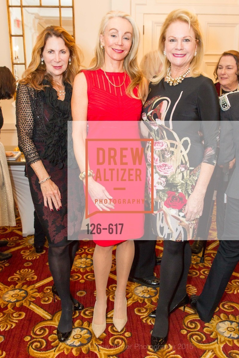 Patricia Ferrin Loucks, Giselle Parry, Claire Kostic, Boy's & Girls' Towns of Italy Holiday Luncheon, The Olympic Club. 524 Post Street, December 3rd, 2015,Drew Altizer, Drew Altizer Photography, full-service agency, private events, San Francisco photographer, photographer california