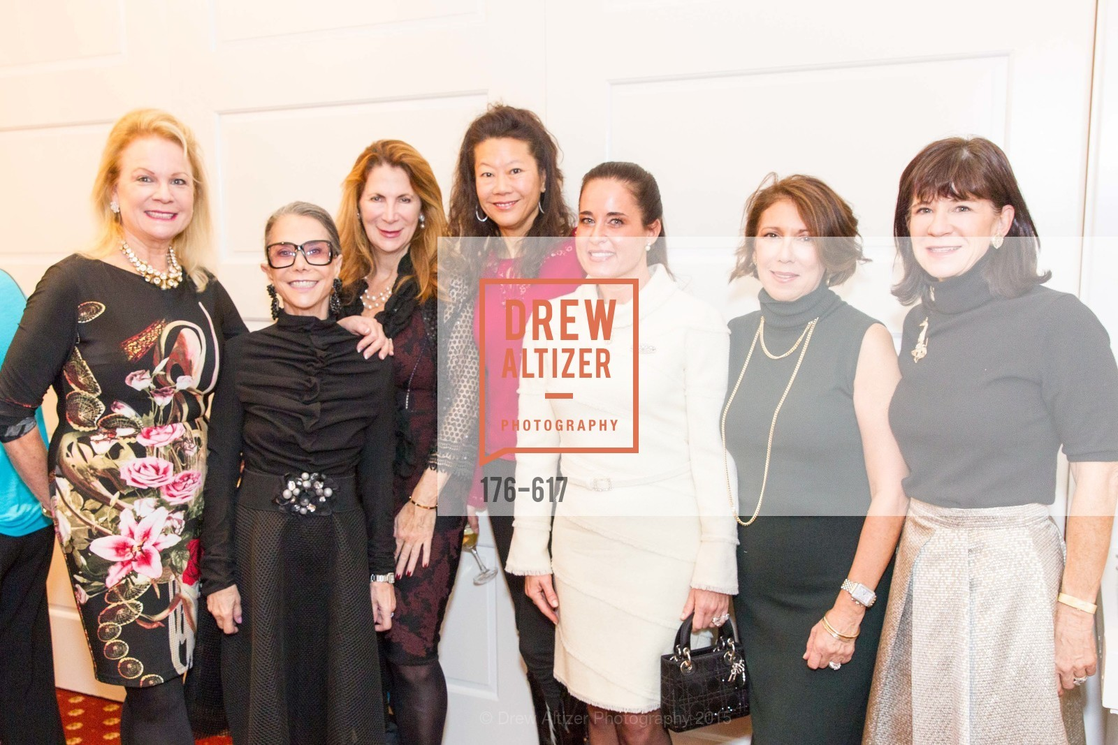Claire Kostic, Julie Coplon, Patricia Ferrin Loucks, Michelle Helm, Natalia Urrutia, Cynthia Karasik, Pam McBain, Boy's & Girls' Towns of Italy Holiday Luncheon, The Olympic Club. 524 Post Street, December 3rd, 2015,Drew Altizer, Drew Altizer Photography, full-service agency, private events, San Francisco photographer, photographer california