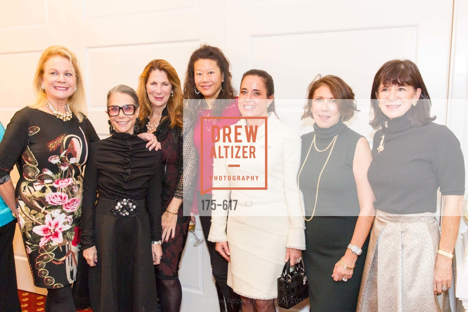 Claire Kostic, Julie Coplon, Patricia Ferrin Loucks, Michelle Helm, Natalia Urrutia, Cynthia Karasik, Pam McBain, Boy's & Girls' Towns of Italy Holiday Luncheon, The Olympic Club. 524 Post Street, December 3rd, 2015,Drew Altizer, Drew Altizer Photography, full-service event agency, private events, San Francisco photographer, photographer California