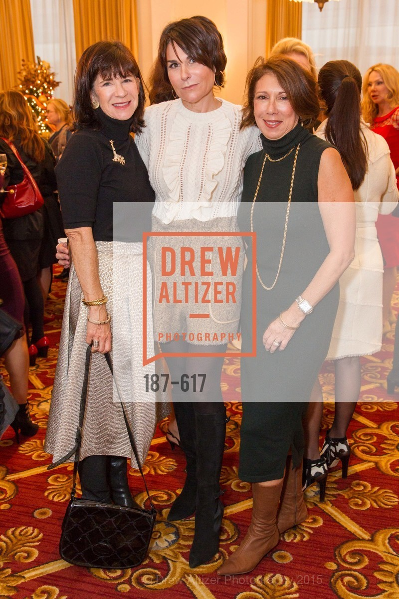 Pam McBain, Debbi DiMaggio, Cynthia Karasik, Boy's & Girls' Towns of Italy Holiday Luncheon, The Olympic Club. 524 Post Street, December 3rd, 2015,Drew Altizer, Drew Altizer Photography, full-service agency, private events, San Francisco photographer, photographer california