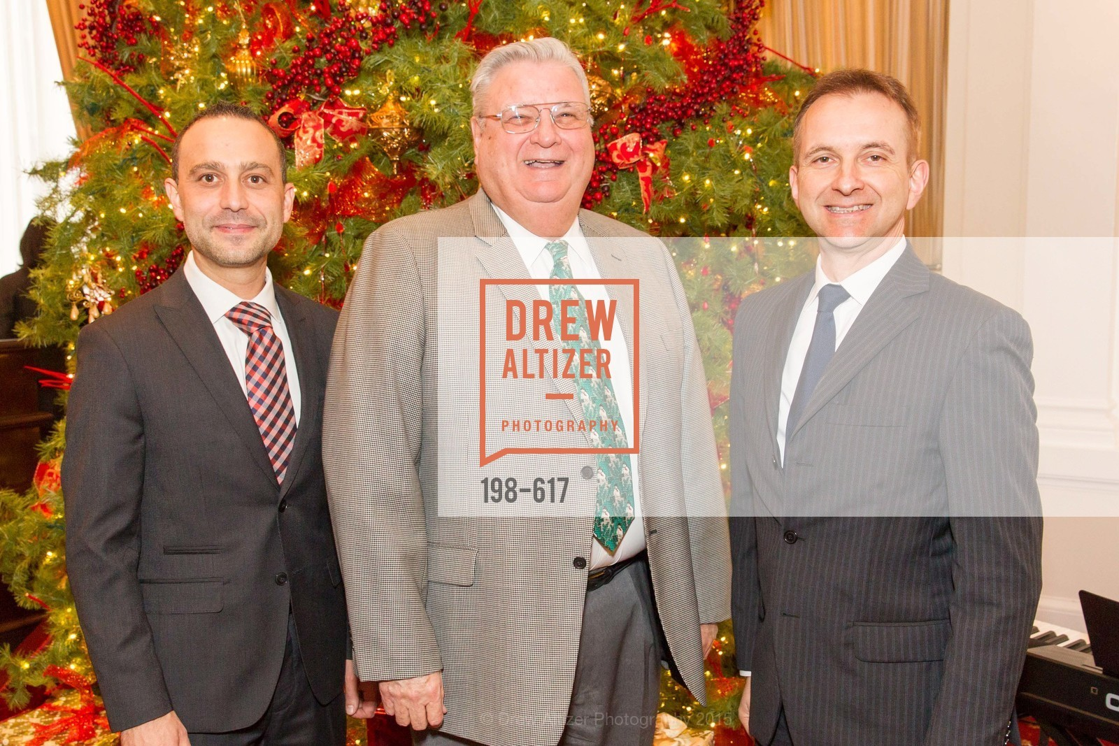 Gabriele Delmonaco, Larry Nibbi, Mauro Battocchi, Boy's & Girls' Towns of Italy Holiday Luncheon, The Olympic Club. 524 Post Street, December 3rd, 2015,Drew Altizer, Drew Altizer Photography, full-service agency, private events, San Francisco photographer, photographer california