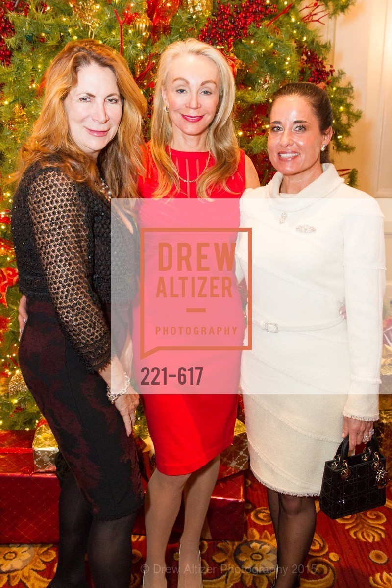 Patricia Ferrin Loucks, Giselle Anna Parry, Natalia Urrutia, Boy's & Girls' Towns of Italy Holiday Luncheon, The Olympic Club. 524 Post Street, December 3rd, 2015,Drew Altizer, Drew Altizer Photography, full-service agency, private events, San Francisco photographer, photographer california