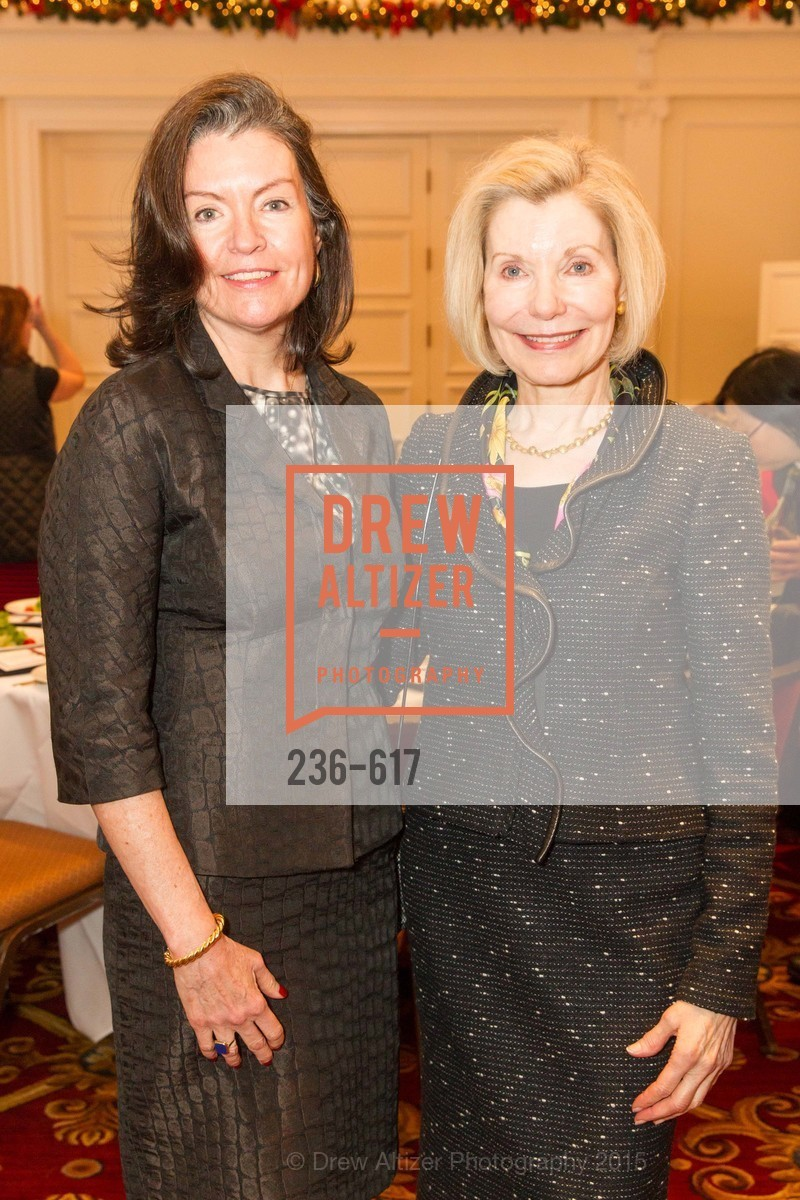 Elizabeth Birka-White, Barbara Traisman, Boy's & Girls' Towns of Italy Holiday Luncheon, The Olympic Club. 524 Post Street, December 3rd, 2015,Drew Altizer, Drew Altizer Photography, full-service event agency, private events, San Francisco photographer, photographer California