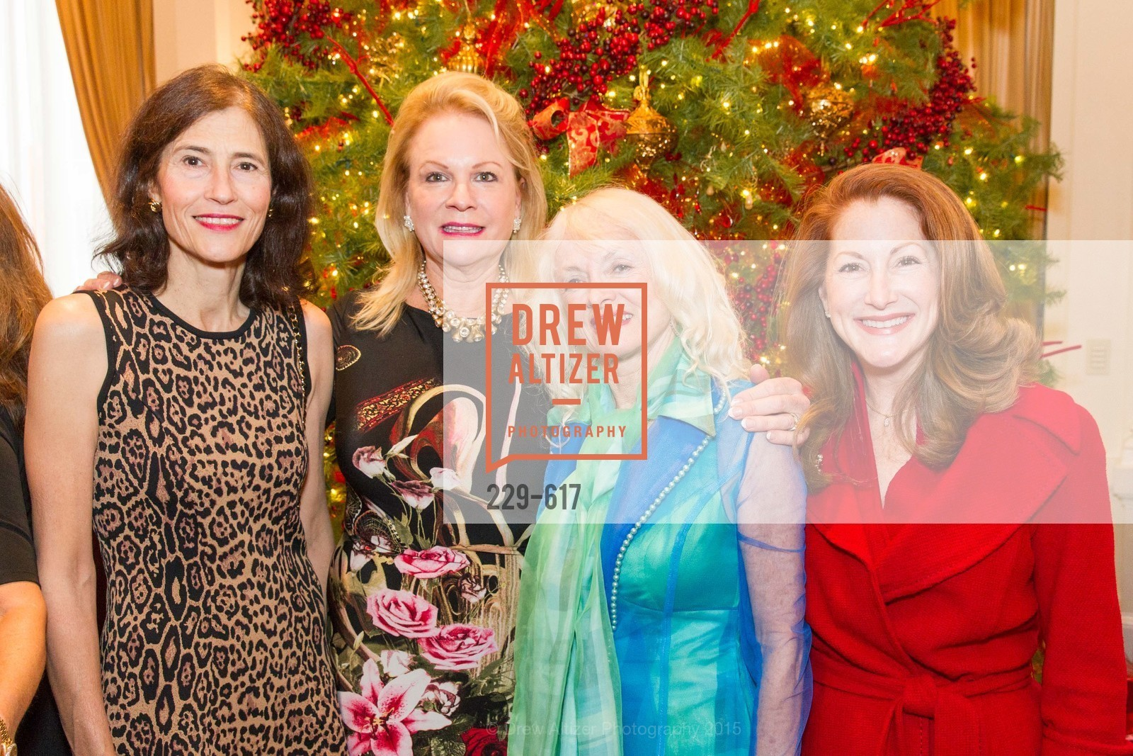Rada Brooks, Claire Kostic, Andi Balo Espina, Ave Seltsam, Boy's & Girls' Towns of Italy Holiday Luncheon, The Olympic Club. 524 Post Street, December 3rd, 2015,Drew Altizer, Drew Altizer Photography, full-service agency, private events, San Francisco photographer, photographer california