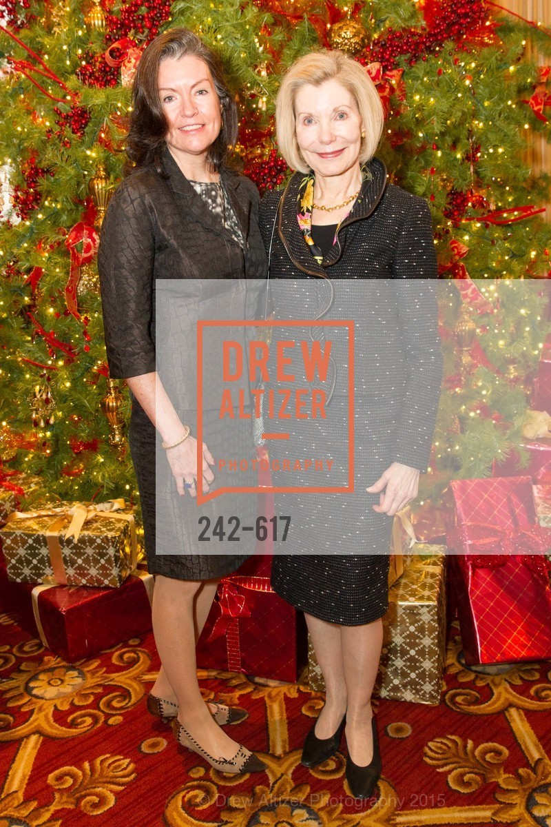 Elizabeth Birka-White, Barbara Traisman, Boy's & Girls' Towns of Italy Holiday Luncheon, The Olympic Club. 524 Post Street, December 3rd, 2015,Drew Altizer, Drew Altizer Photography, full-service agency, private events, San Francisco photographer, photographer california