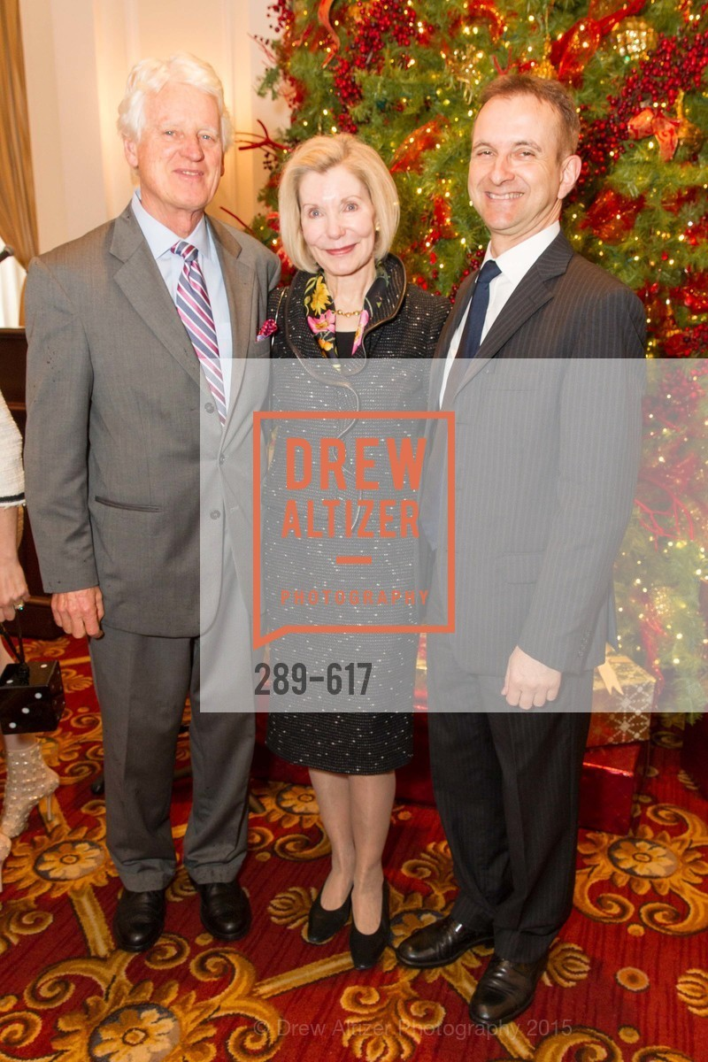 Klaus Murer, Barbara Traisman, Mauro Battocchi, Boy's & Girls' Towns of Italy Holiday Luncheon, The Olympic Club. 524 Post Street, December 3rd, 2015,Drew Altizer, Drew Altizer Photography, full-service agency, private events, San Francisco photographer, photographer california