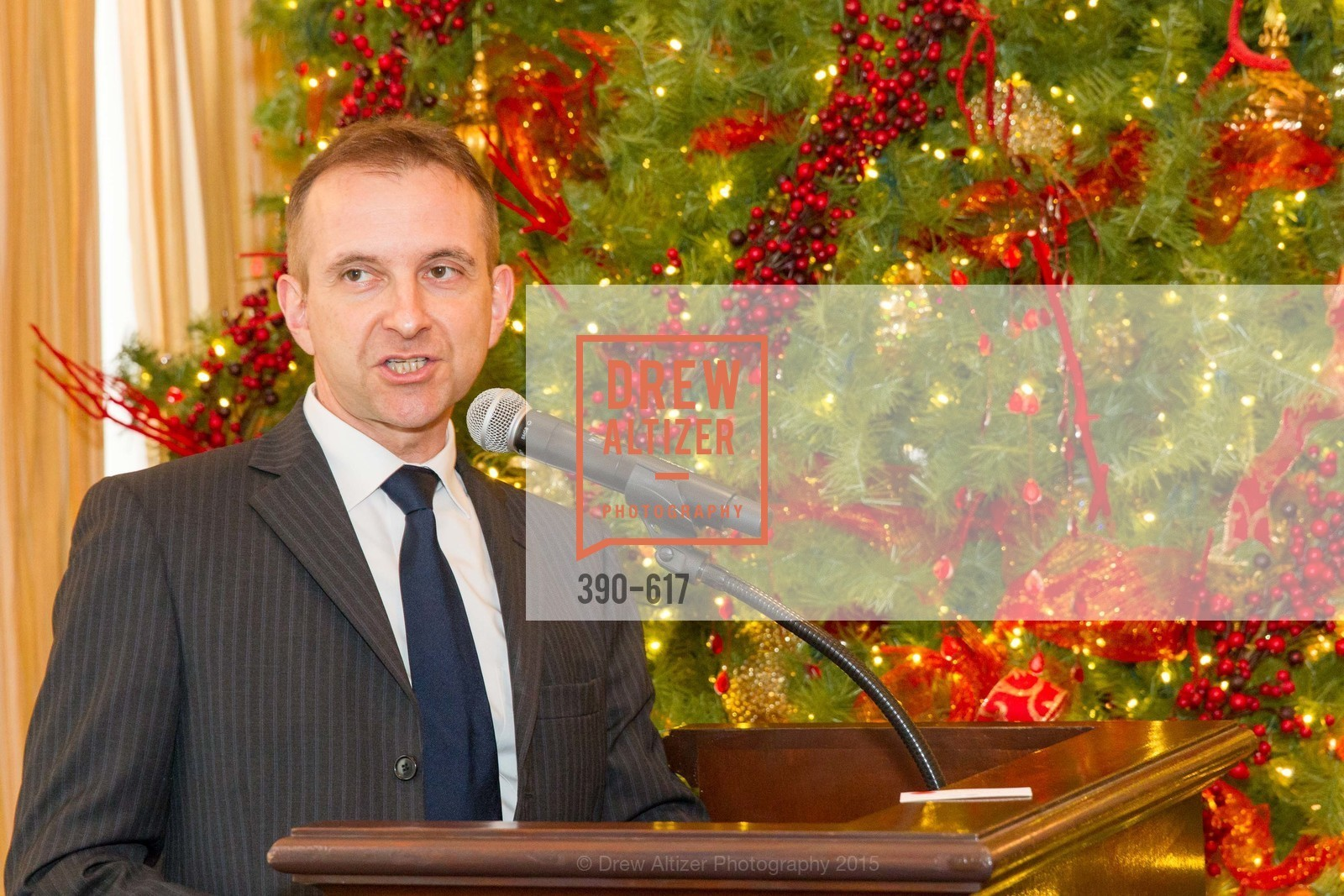 Mauro Battocchi, Boy's & Girls' Towns of Italy Holiday Luncheon, The Olympic Club. 524 Post Street, December 3rd, 2015,Drew Altizer, Drew Altizer Photography, full-service agency, private events, San Francisco photographer, photographer california