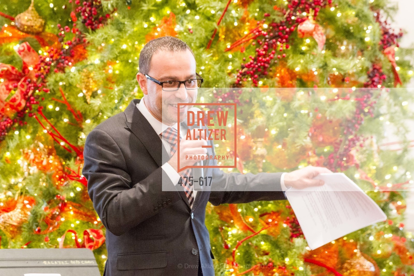 Gabriele Delmonaco, Boy's & Girls' Towns of Italy Holiday Luncheon, The Olympic Club. 524 Post Street, December 3rd, 2015,Drew Altizer, Drew Altizer Photography, full-service agency, private events, San Francisco photographer, photographer california