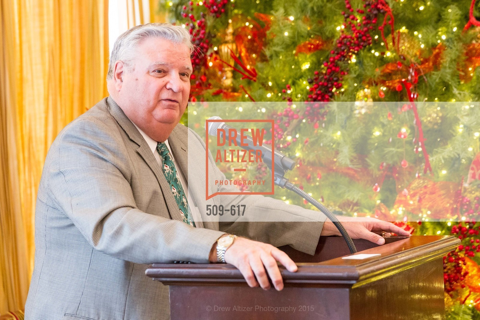 Larry Nibbi, Boy's & Girls' Towns of Italy Holiday Luncheon, The Olympic Club. 524 Post Street, December 3rd, 2015,Drew Altizer, Drew Altizer Photography, full-service agency, private events, San Francisco photographer, photographer california