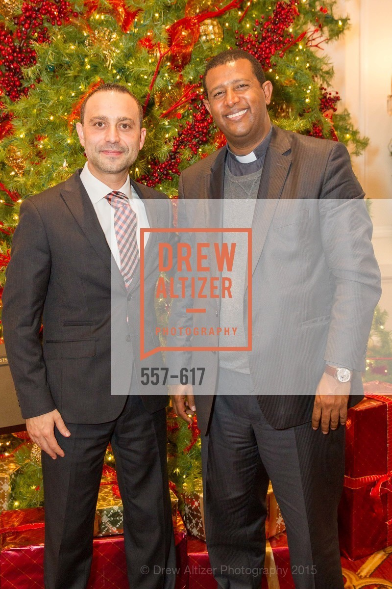 Gabriele Delmonaco, Teshome Woldetemsae, Boy's & Girls' Towns of Italy Holiday Luncheon, The Olympic Club. 524 Post Street, December 3rd, 2015,Drew Altizer, Drew Altizer Photography, full-service agency, private events, San Francisco photographer, photographer california