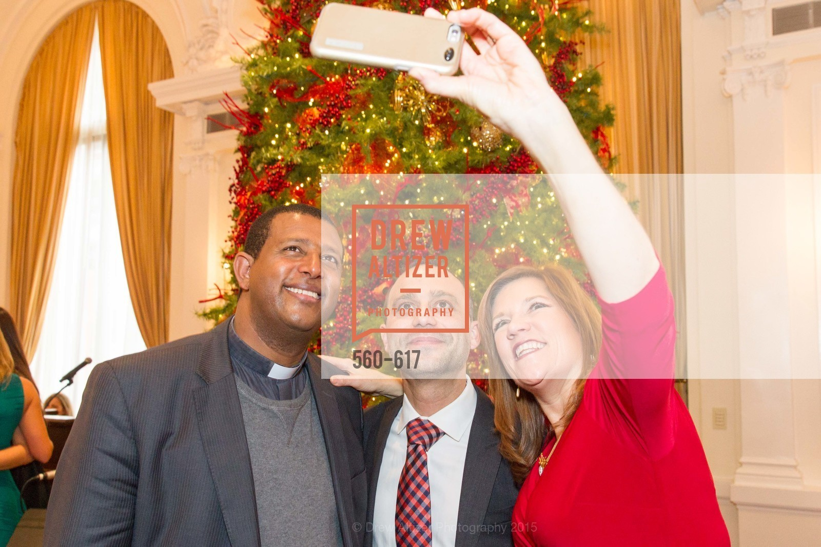 Teshome Woldetemsae, Gabriele Delmonaco, Susie Garcia, Boy's & Girls' Towns of Italy Holiday Luncheon, The Olympic Club. 524 Post Street, December 3rd, 2015,Drew Altizer, Drew Altizer Photography, full-service agency, private events, San Francisco photographer, photographer california