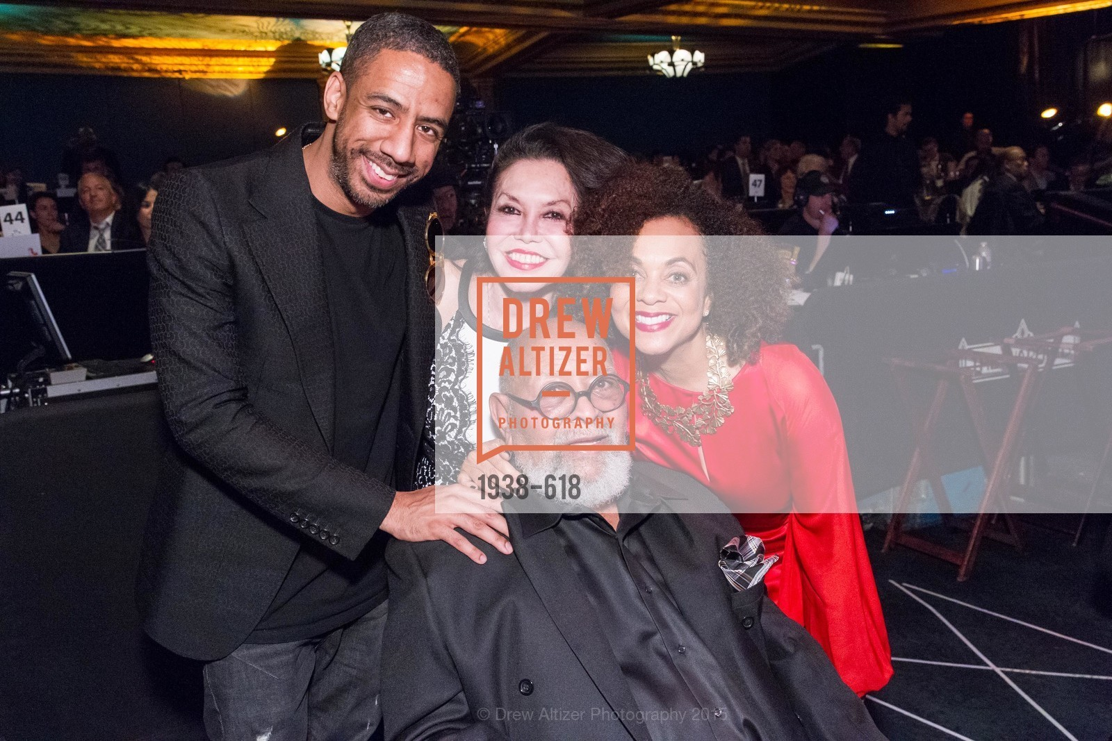 Ryan Leslie, Janice Mirikitani, Cecil Williams, Felicia Horowitz, GLIDE's Annual Holiday Jam: Love Matters, The Warfield Theatre. 982 Market, December 3rd, 2015,Drew Altizer, Drew Altizer Photography, full-service agency, private events, San Francisco photographer, photographer california