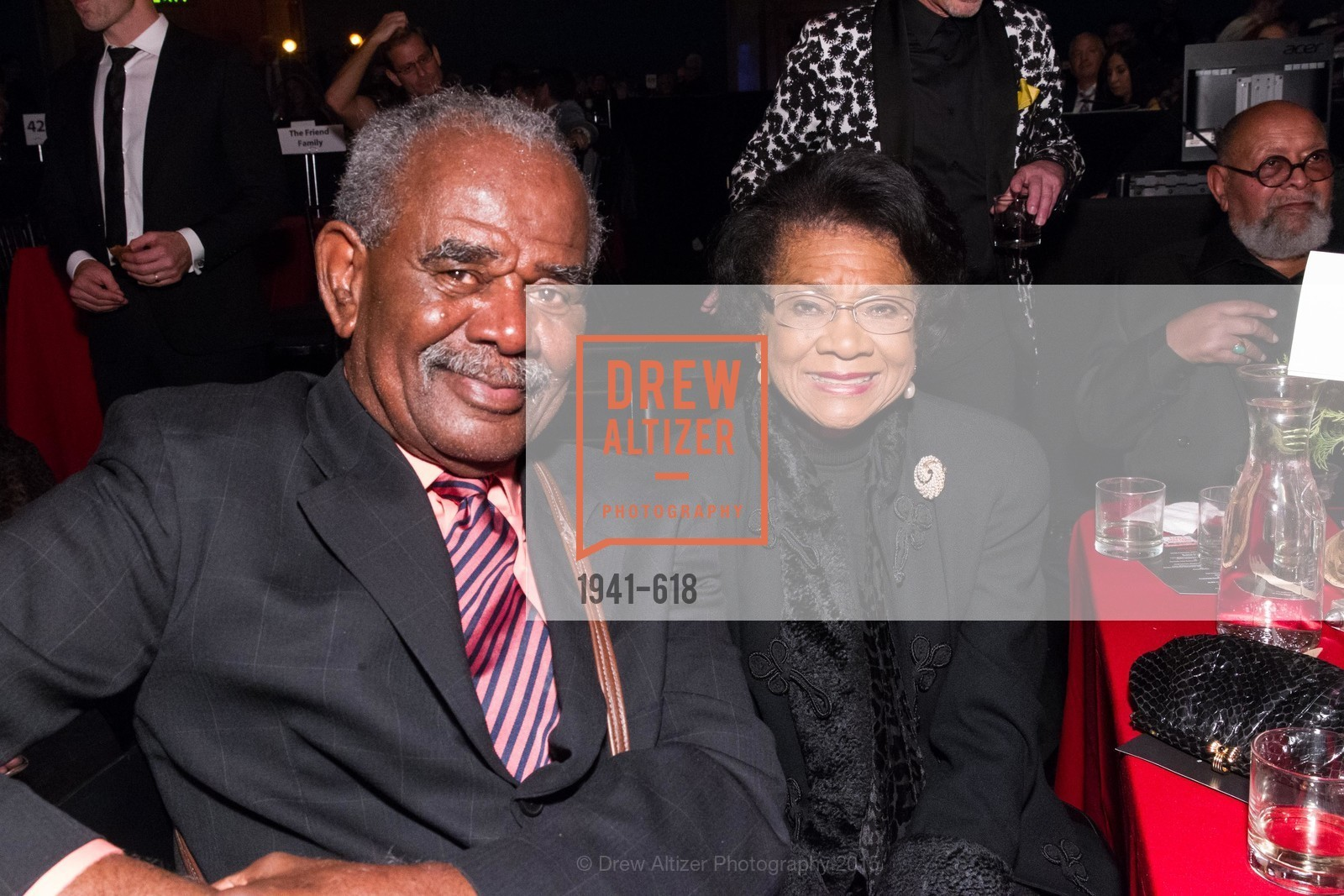 William Moore, Belva Davis, GLIDE's Annual Holiday Jam: Love Matters, The Warfield Theatre. 982 Market, December 3rd, 2015,Drew Altizer, Drew Altizer Photography, full-service event agency, private events, San Francisco photographer, photographer California