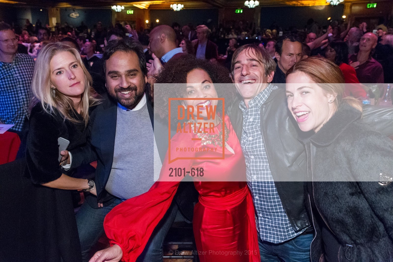 Alicia Engstrom, Hosain Rahman, Felicia Horowitz, Mark Pincus, Ali Pincus, GLIDE's Annual Holiday Jam: Love Matters, The Warfield Theatre. 982 Market, December 3rd, 2015,Drew Altizer, Drew Altizer Photography, full-service event agency, private events, San Francisco photographer, photographer California