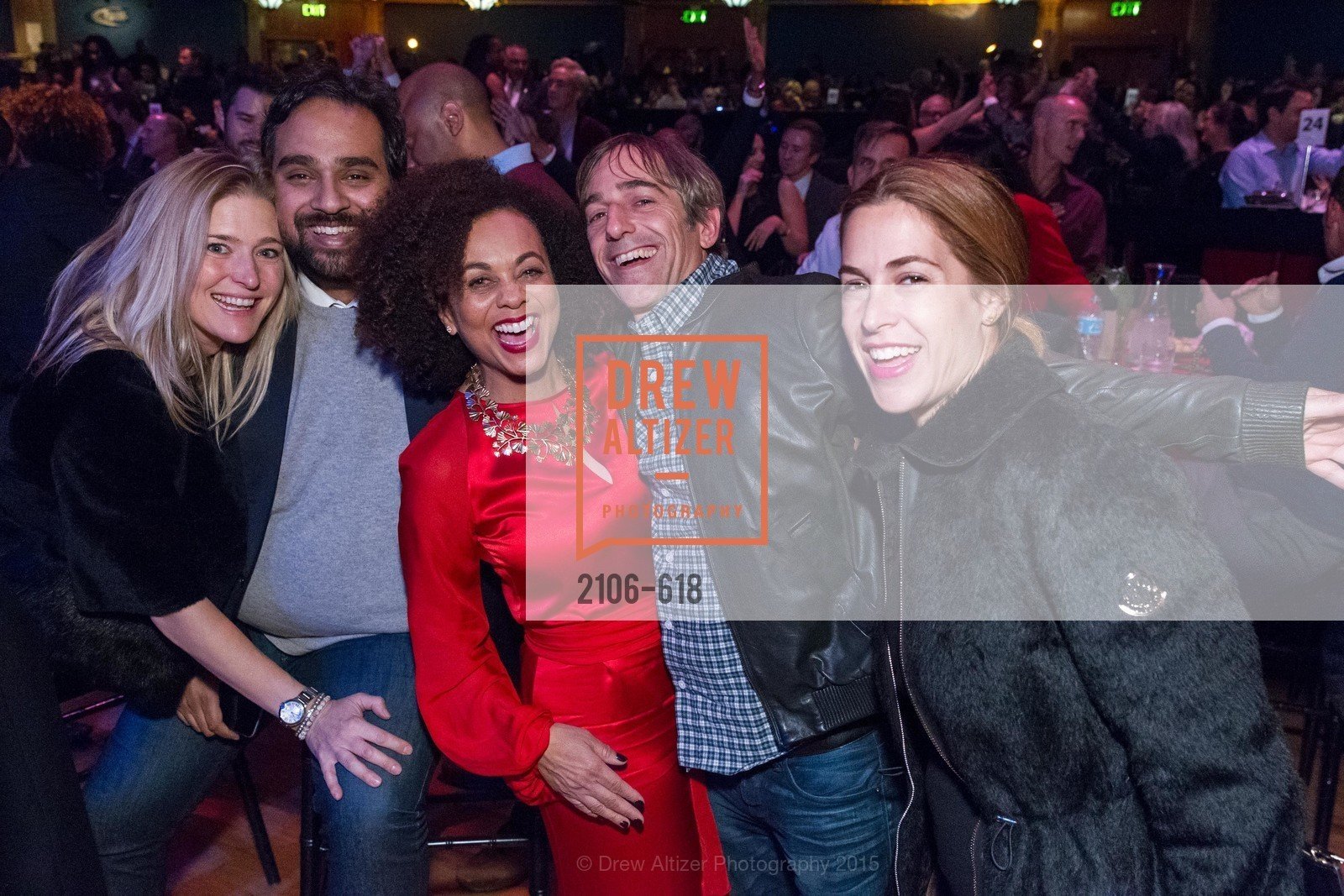 Alicia Engstrom, Hosain Rahman, Felicia Horowitz, Mark Pincus, Ali Incus, GLIDE's Annual Holiday Jam: Love Matters, The Warfield Theatre. 982 Market, December 3rd, 2015,Drew Altizer, Drew Altizer Photography, full-service agency, private events, San Francisco photographer, photographer california