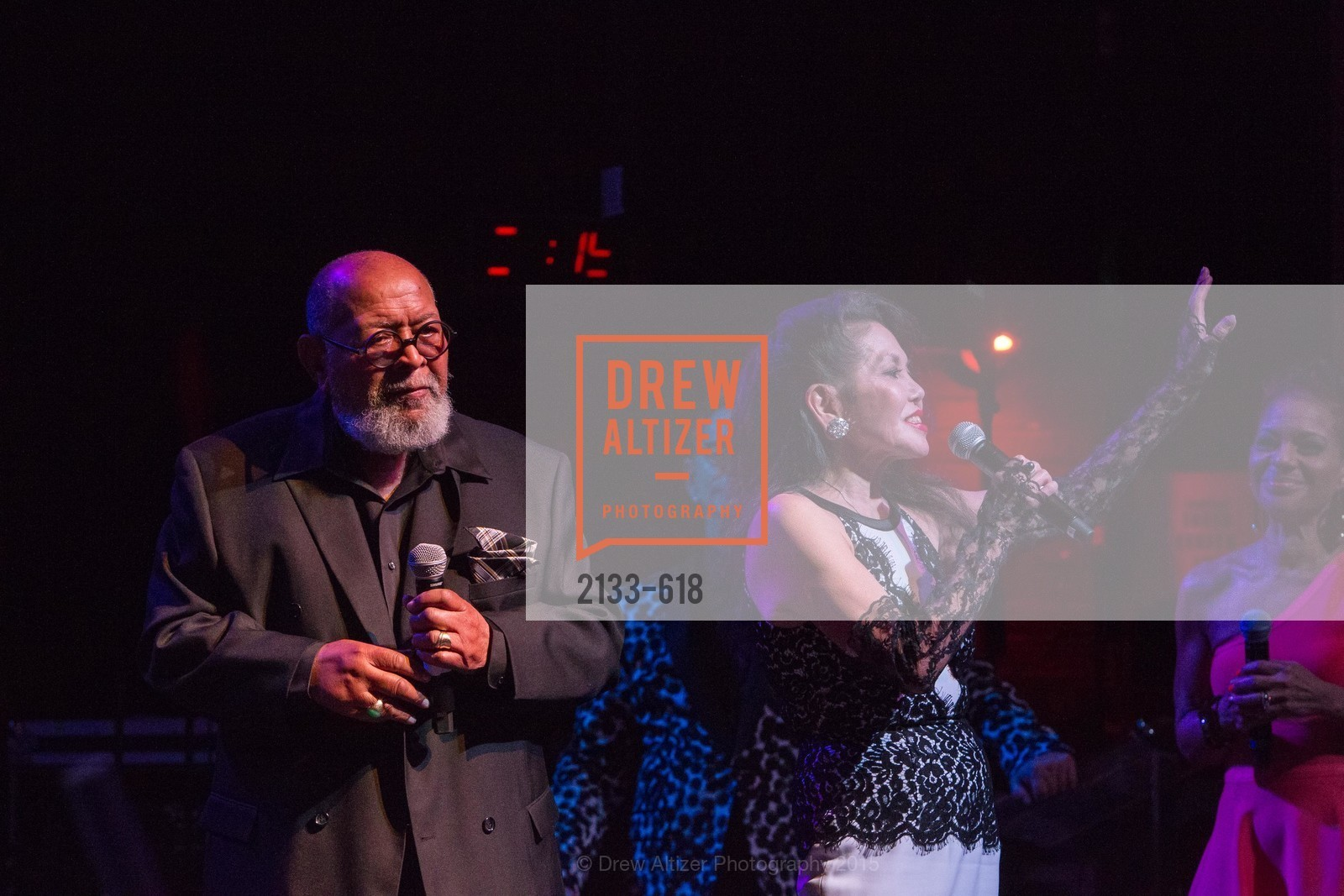 Cecil Williams, Janice Mirikitani, GLIDE's Annual Holiday Jam: Love Matters, The Warfield Theatre. 982 Market, December 3rd, 2015,Drew Altizer, Drew Altizer Photography, full-service event agency, private events, San Francisco photographer, photographer California