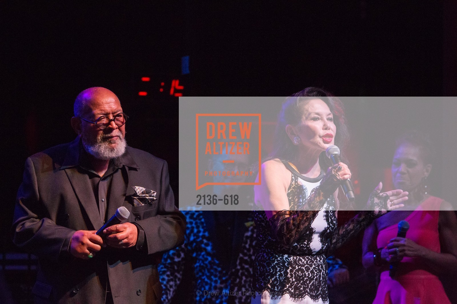 Cecil Williams, Janice Mirikitani, GLIDE's Annual Holiday Jam: Love Matters, The Warfield Theatre. 982 Market, December 3rd, 2015,Drew Altizer, Drew Altizer Photography, full-service agency, private events, San Francisco photographer, photographer california