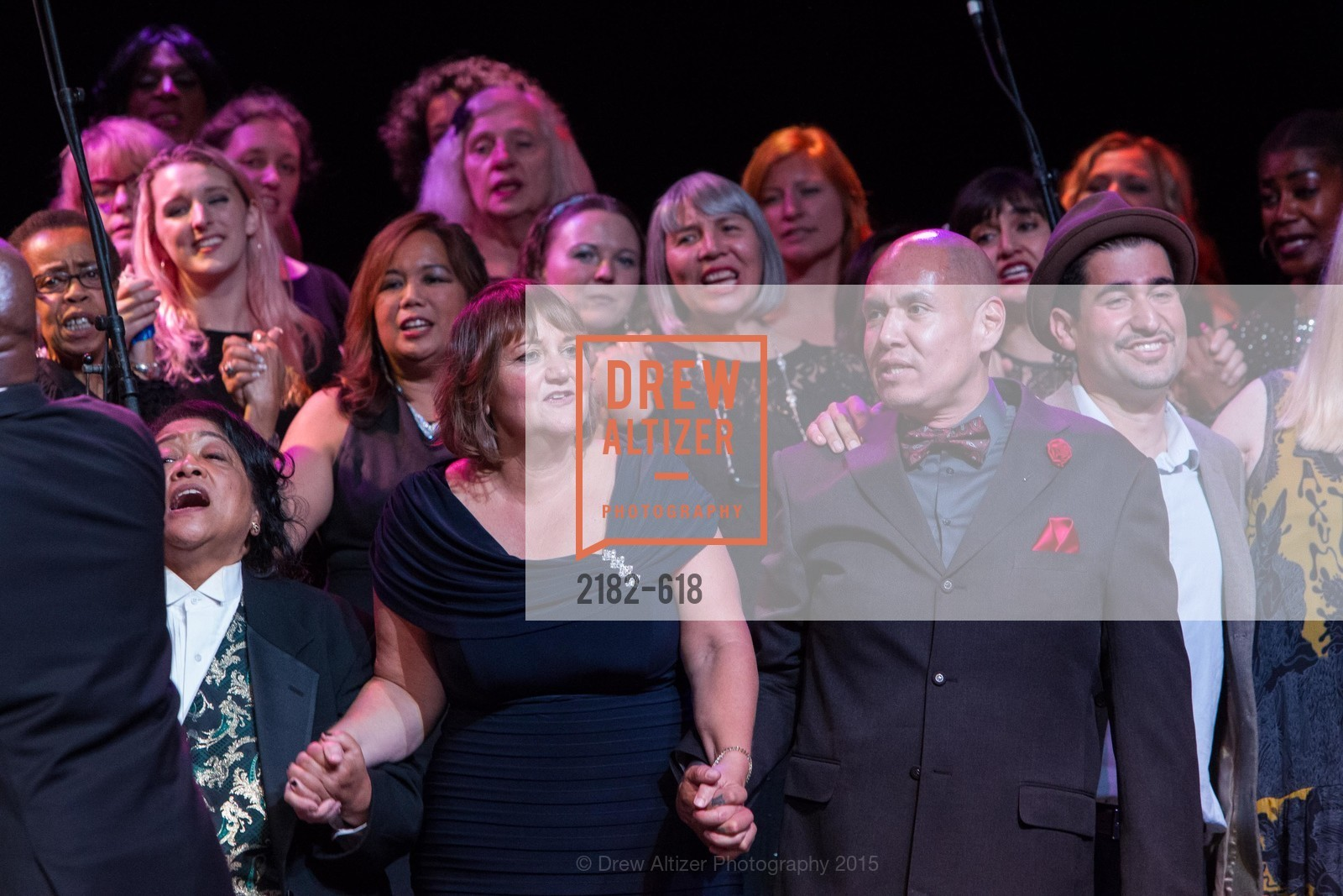 Rita Shimmin, Karen Oliveto, GLIDE's Annual Holiday Jam: Love Matters, The Warfield Theatre. 982 Market, December 3rd, 2015,Drew Altizer, Drew Altizer Photography, full-service agency, private events, San Francisco photographer, photographer california