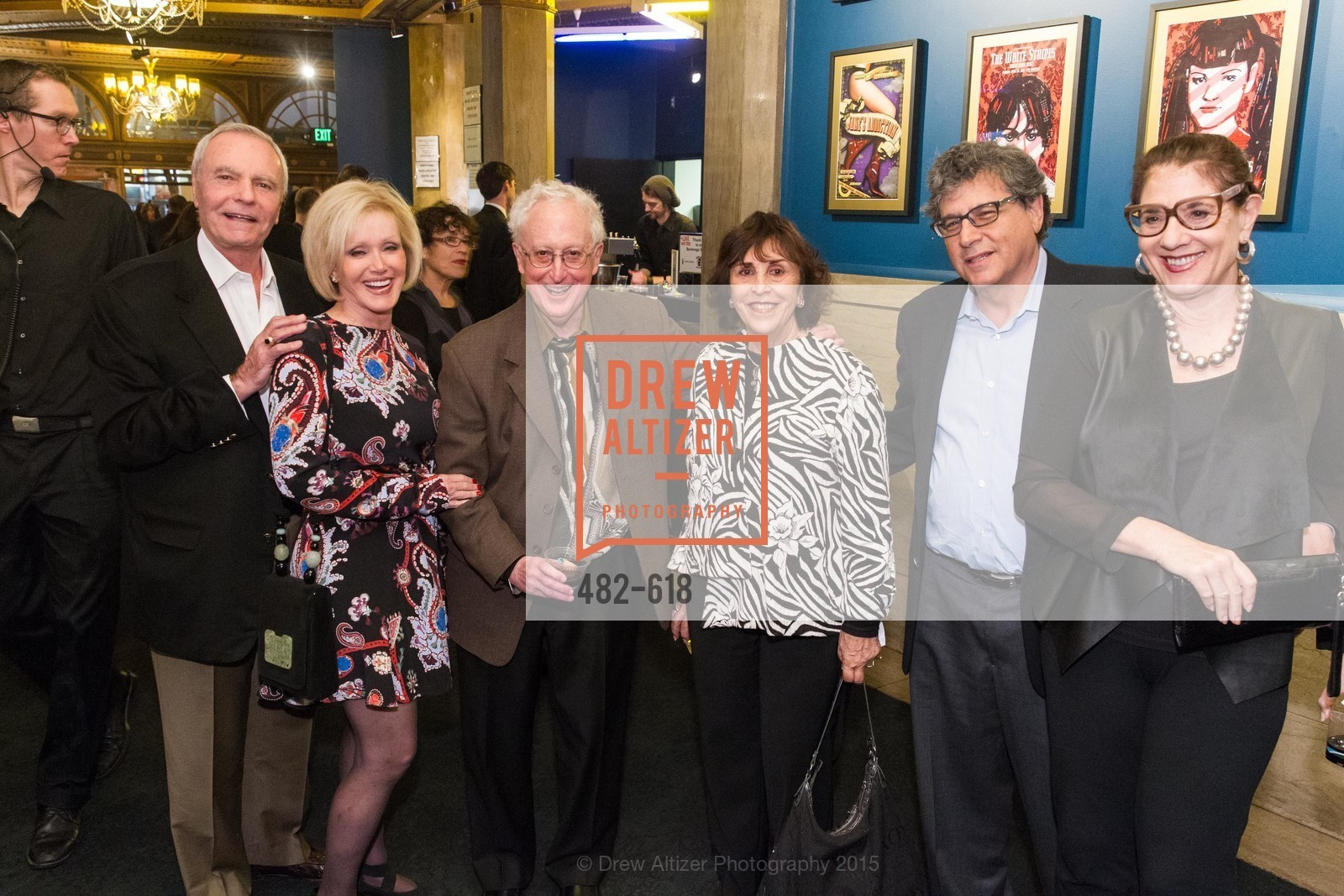 Kathy Marks, Bud Marks, Ron Berman, Ellie Berman, Saperstein, Eileen Sherman, GLIDE's Annual Holiday Jam: Love Matters, The Warfield Theatre. 982 Market, December 3rd, 2015,Drew Altizer, Drew Altizer Photography, full-service agency, private events, San Francisco photographer, photographer california