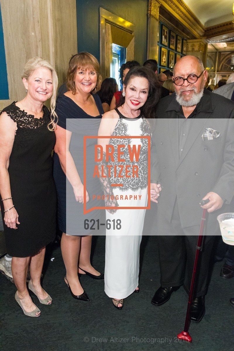 Karen Oliveto, Robin Ridenour, Janice Mirikitani, Cecil Williams, GLIDE's Annual Holiday Jam: Love Matters, The Warfield Theatre. 982 Market, December 3rd, 2015,Drew Altizer, Drew Altizer Photography, full-service agency, private events, San Francisco photographer, photographer california