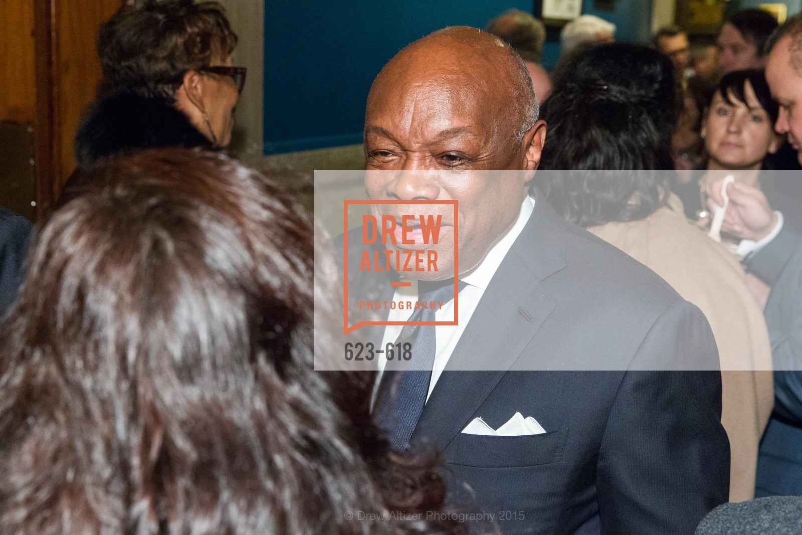 Willie Brown, GLIDE's Annual Holiday Jam: Love Matters, The Warfield Theatre. 982 Market, December 3rd, 2015,Drew Altizer, Drew Altizer Photography, full-service agency, private events, San Francisco photographer, photographer california