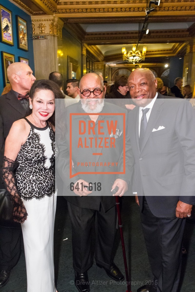 Janice Mirikitani, Cecil Williams, Willie Brown, GLIDE's Annual Holiday Jam: Love Matters, The Warfield Theatre. 982 Market, December 3rd, 2015,Drew Altizer, Drew Altizer Photography, full-service event agency, private events, San Francisco photographer, photographer California