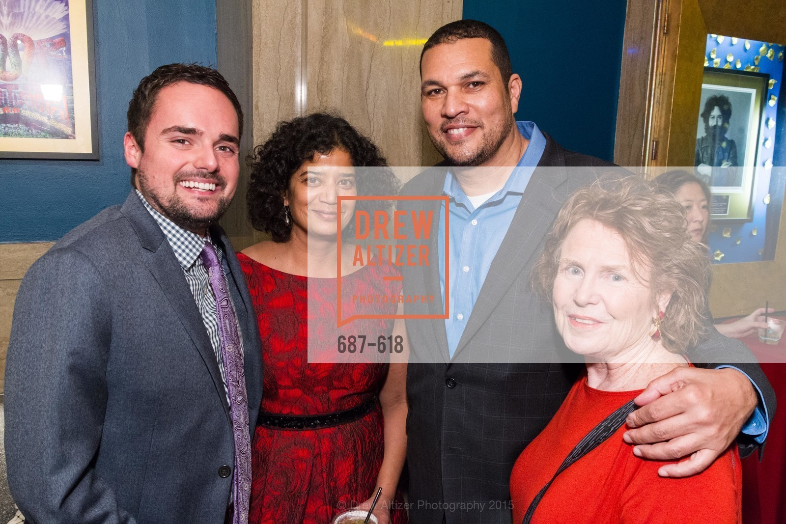 Jimmy San Marco, Shireen McFadden, George Bridges, Candace Snyder, GLIDE's Annual Holiday Jam: Love Matters, The Warfield Theatre. 982 Market, December 3rd, 2015,Drew Altizer, Drew Altizer Photography, full-service event agency, private events, San Francisco photographer, photographer California