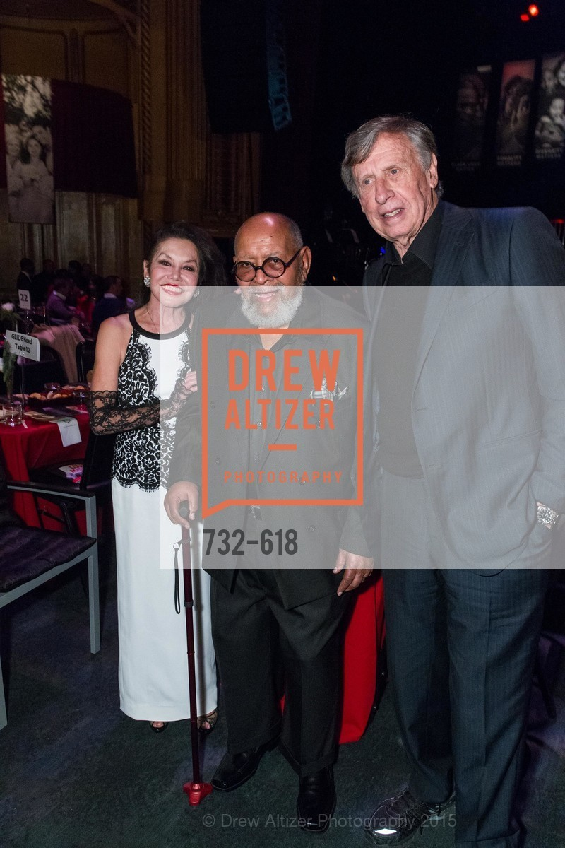 Janice Mirikitani, Cecil Williams, Richard C. Blum, GLIDE's Annual Holiday Jam: Love Matters, The Warfield Theatre. 982 Market, December 3rd, 2015,Drew Altizer, Drew Altizer Photography, full-service agency, private events, San Francisco photographer, photographer california