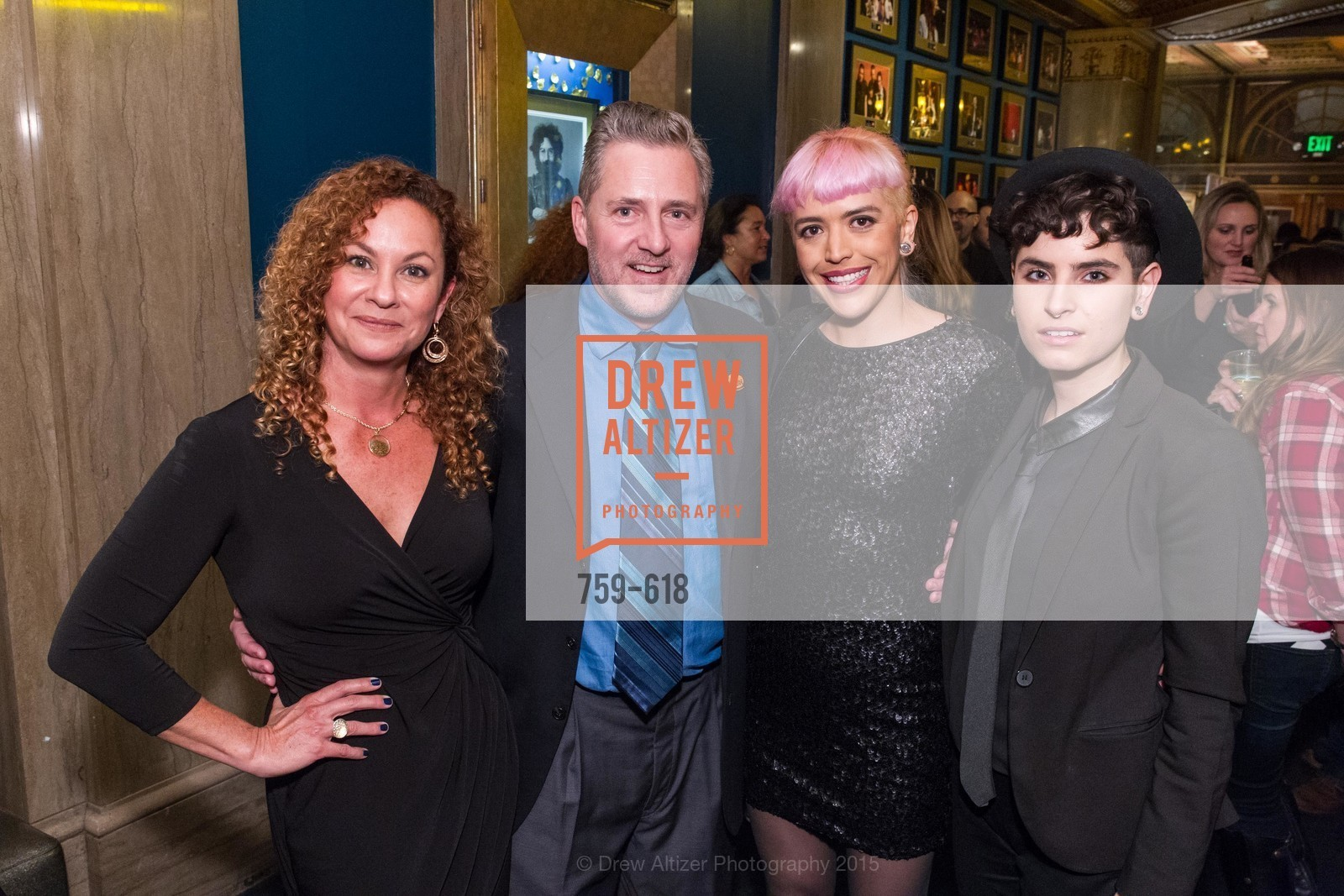 Amanda Hardy, Jake Boden, Laura Ceron Melo, Leanna Delgado Lopera, GLIDE's Annual Holiday Jam: Love Matters, The Warfield Theatre. 982 Market, December 3rd, 2015,Drew Altizer, Drew Altizer Photography, full-service agency, private events, San Francisco photographer, photographer california