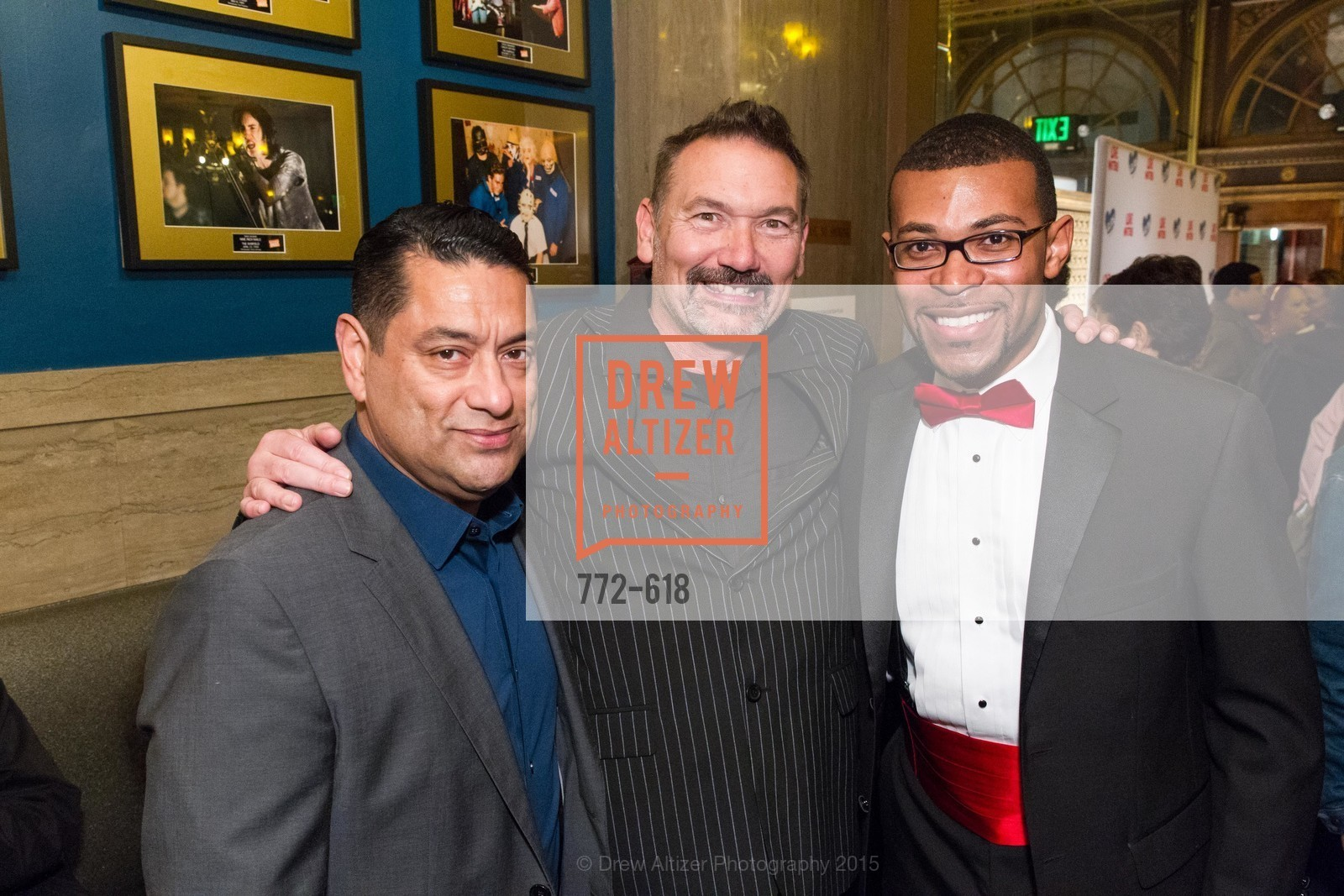 Martin Soto, Paul Harkin, Theon Johnson II, GLIDE's Annual Holiday Jam: Love Matters, The Warfield Theatre. 982 Market, December 3rd, 2015,Drew Altizer, Drew Altizer Photography, full-service agency, private events, San Francisco photographer, photographer california