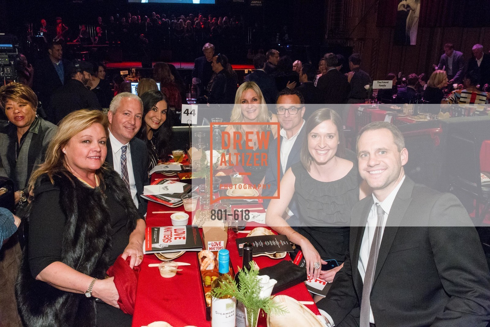 Nancy Donati, Craig Sullivan, Meredith Rocha, Diane McDermott, Cary Davalos, KC Baksa, Bobby Baksa, GLIDE's Annual Holiday Jam: Love Matters, The Warfield Theatre. 982 Market, December 3rd, 2015,Drew Altizer, Drew Altizer Photography, full-service event agency, private events, San Francisco photographer, photographer California