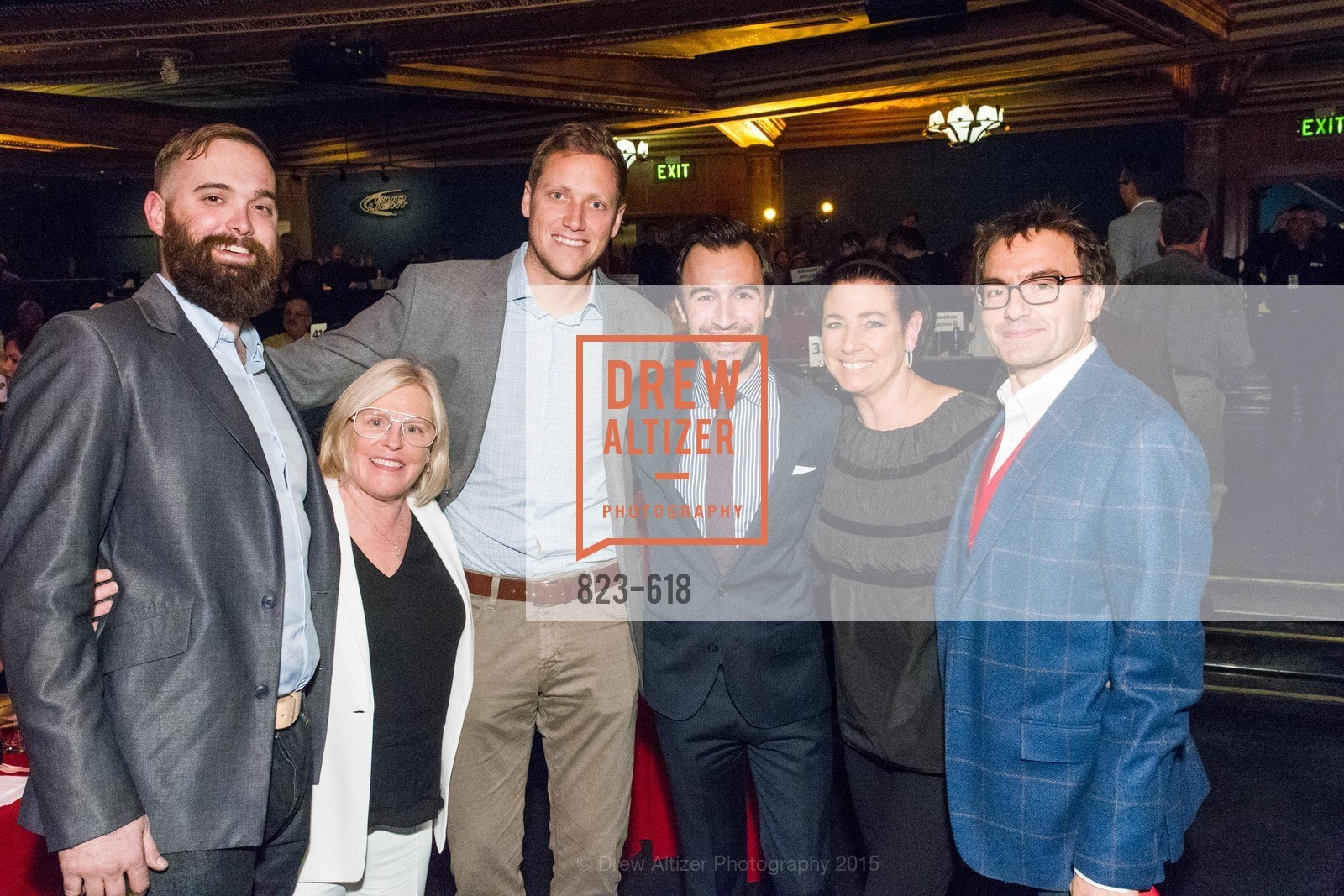 Jesse Kay-Rugen, Amy Errett, Ian McCormick, Jeremey Pelkey, Clare Albanese, Jake Hennen, GLIDE's Annual Holiday Jam: Love Matters, The Warfield Theatre. 982 Market, December 3rd, 2015,Drew Altizer, Drew Altizer Photography, full-service agency, private events, San Francisco photographer, photographer california