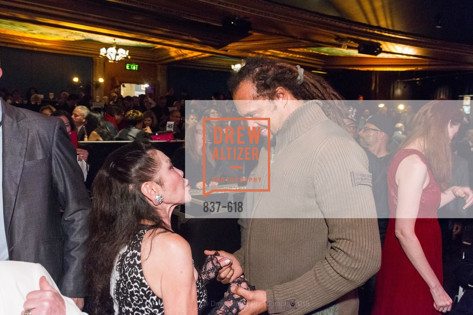 Janice Mirikitani, Michael Franti, GLIDE's Annual Holiday Jam: Love Matters, The Warfield Theatre. 982 Market, December 3rd, 2015,Drew Altizer, Drew Altizer Photography, full-service agency, private events, San Francisco photographer, photographer california
