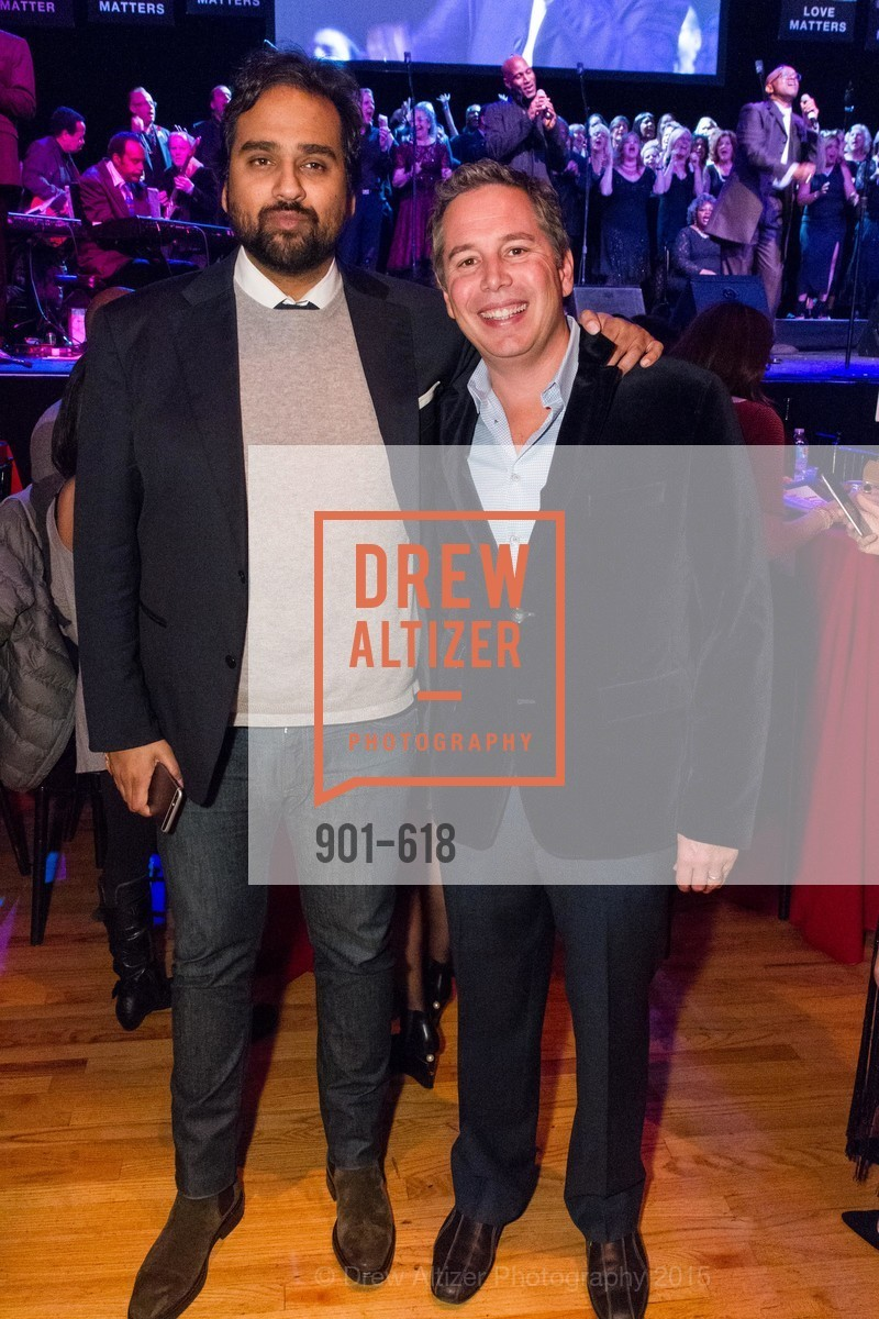 Hosain Rahman, Karl Jacob, GLIDE's Annual Holiday Jam: Love Matters, The Warfield Theatre. 982 Market, December 3rd, 2015,Drew Altizer, Drew Altizer Photography, full-service event agency, private events, San Francisco photographer, photographer California
