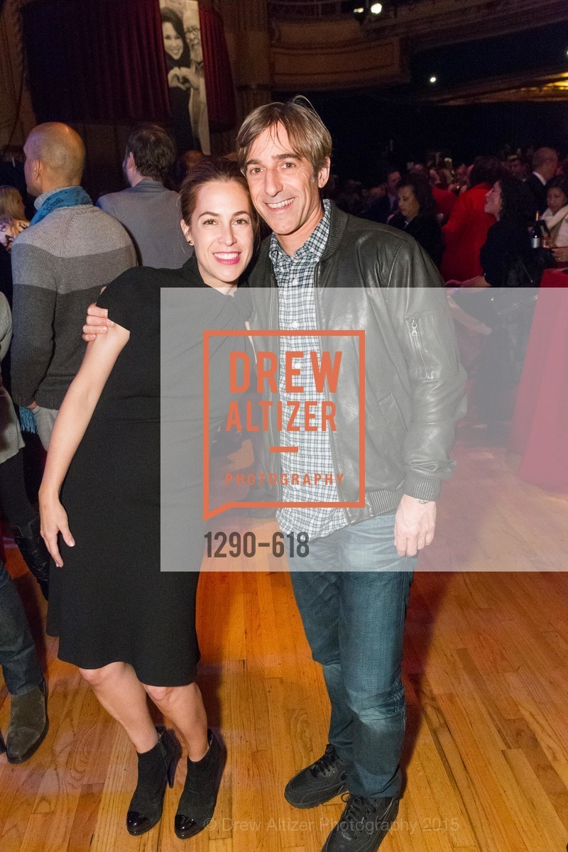 Ali Pincus, Mark Pincus, GLIDE's Annual Holiday Jam: Love Matters, The Warfield Theatre. 982 Market, December 3rd, 2015,Drew Altizer, Drew Altizer Photography, full-service agency, private events, San Francisco photographer, photographer california