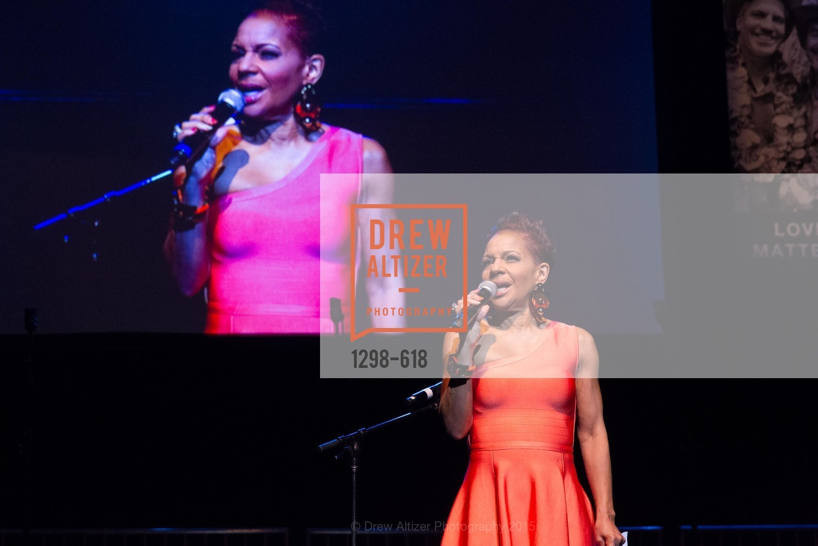 Renel Brooks-Moon, GLIDE's Annual Holiday Jam: Love Matters, The Warfield Theatre. 982 Market, December 3rd, 2015,Drew Altizer, Drew Altizer Photography, full-service agency, private events, San Francisco photographer, photographer california