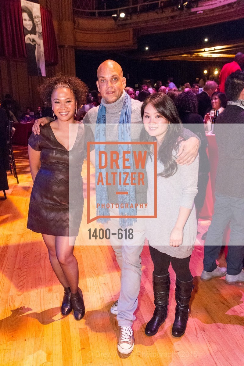 Dori Caminong, Quincy Jones III, Vicky Shum, GLIDE's Annual Holiday Jam: Love Matters, The Warfield Theatre. 982 Market, December 3rd, 2015,Drew Altizer, Drew Altizer Photography, full-service agency, private events, San Francisco photographer, photographer california