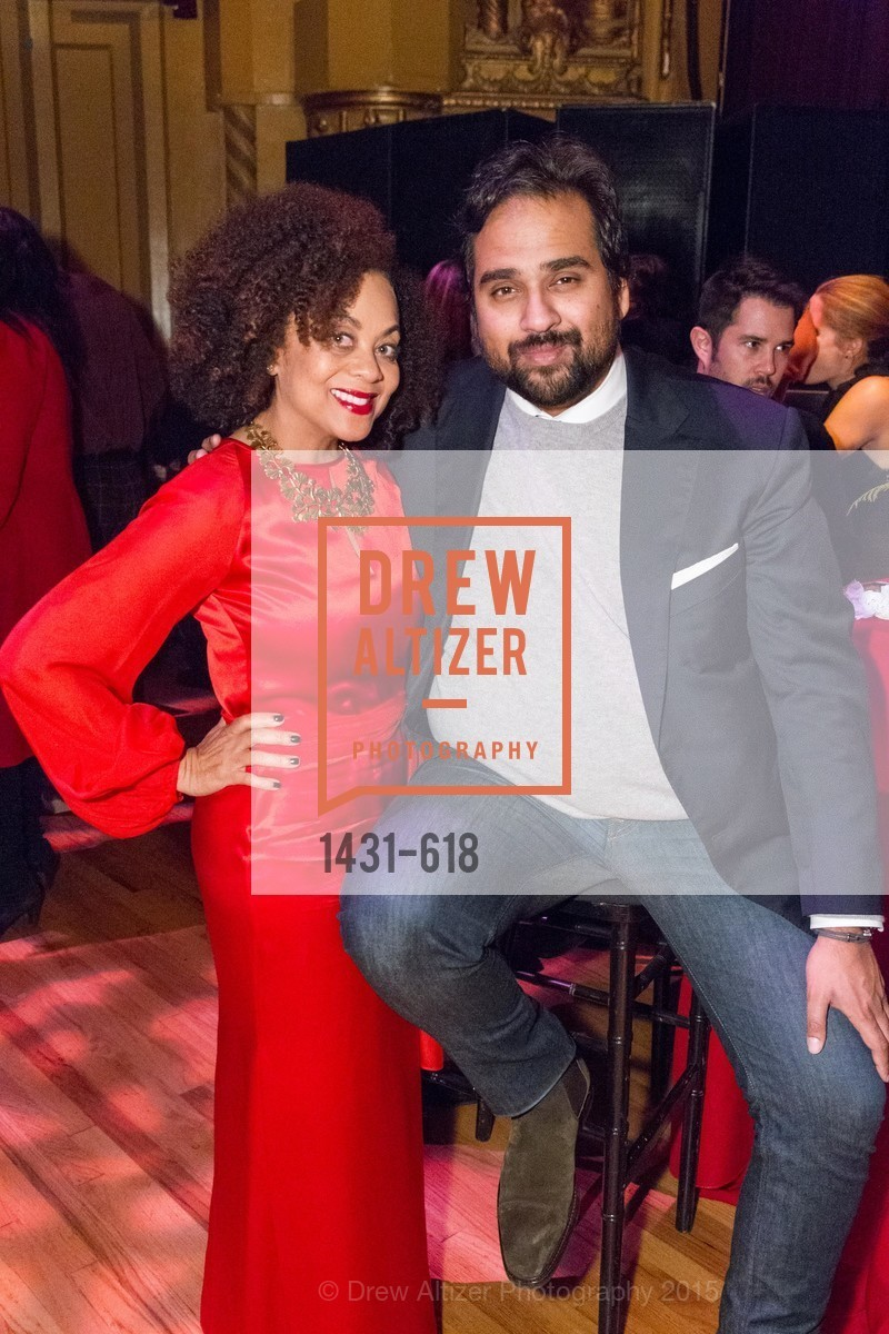 Felicia Horowitz, Hosain Rahman, GLIDE's Annual Holiday Jam: Love Matters, The Warfield Theatre. 982 Market, December 3rd, 2015,Drew Altizer, Drew Altizer Photography, full-service agency, private events, San Francisco photographer, photographer california