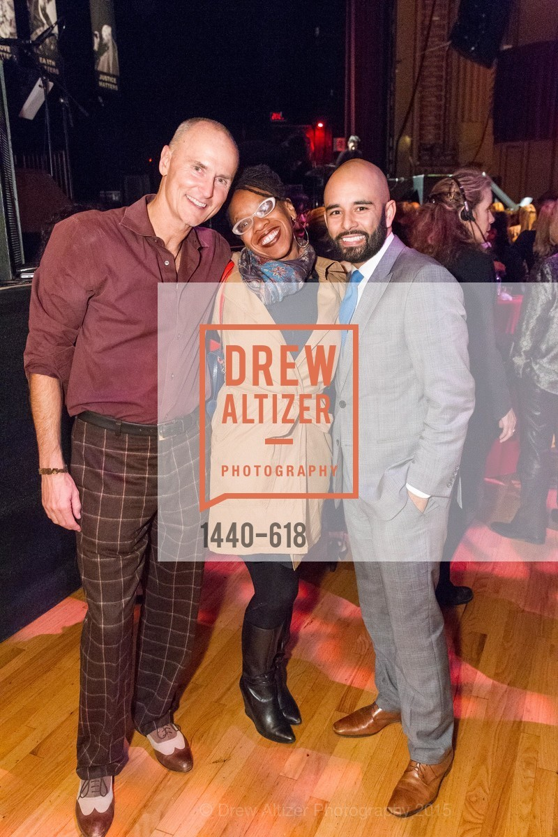 Chip Connely, Latifah Simons, Edmund Lindo, GLIDE's Annual Holiday Jam: Love Matters, The Warfield Theatre. 982 Market, December 3rd, 2015,Drew Altizer, Drew Altizer Photography, full-service agency, private events, San Francisco photographer, photographer california