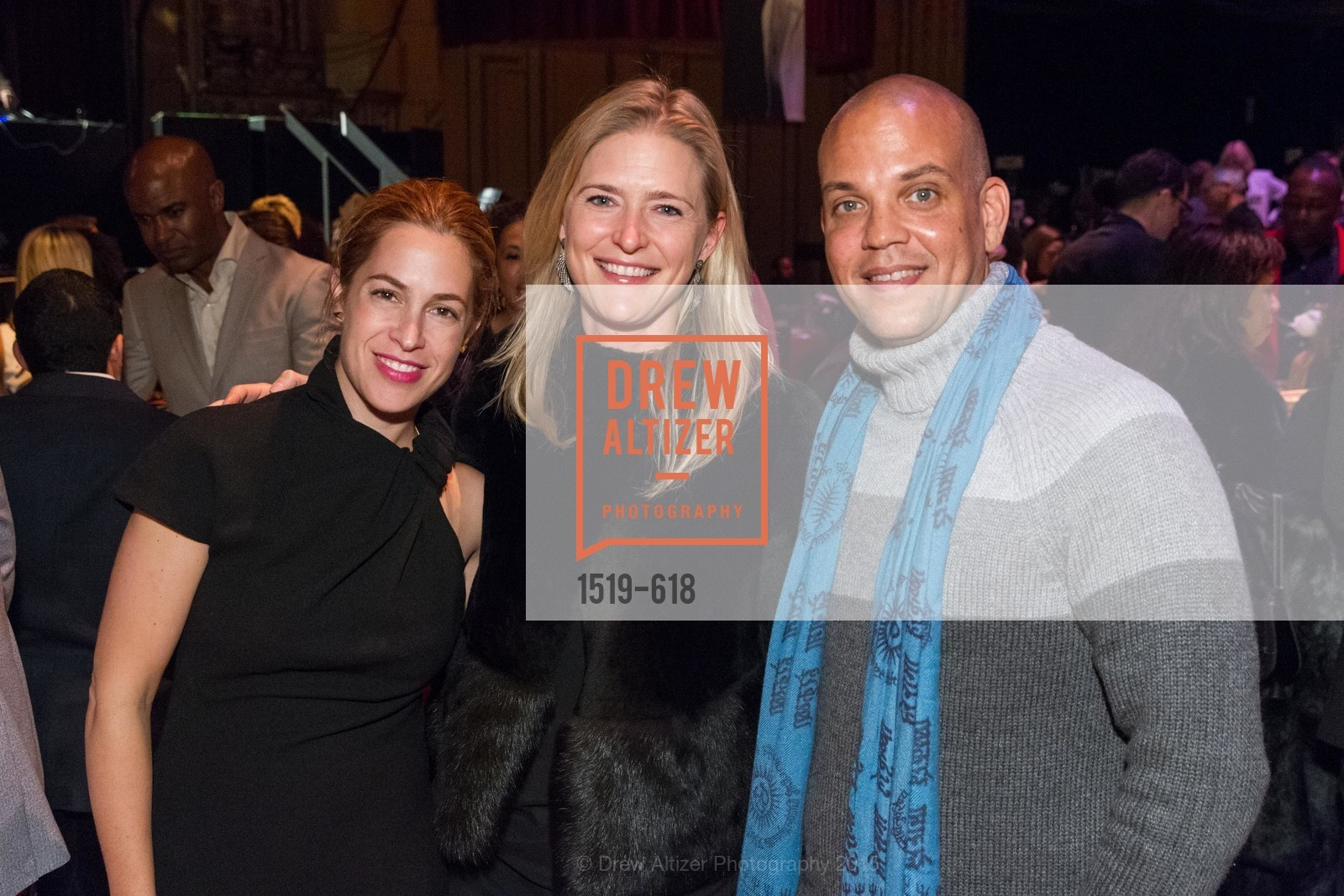 Ali Pincus, Alicia Engstrom, Quincy Jones III, GLIDE's Annual Holiday Jam: Love Matters, The Warfield Theatre. 982 Market, December 3rd, 2015,Drew Altizer, Drew Altizer Photography, full-service agency, private events, San Francisco photographer, photographer california