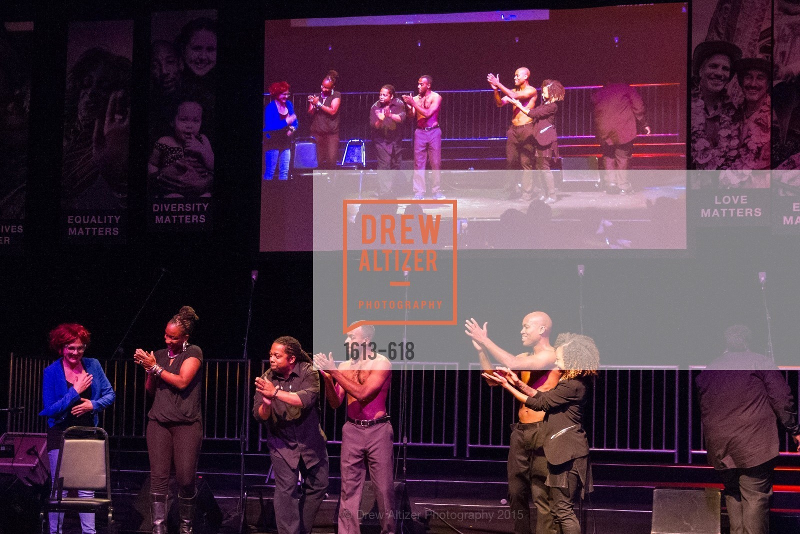 Performance, GLIDE's Annual Holiday Jam: Love Matters, The Warfield Theatre. 982 Market, December 3rd, 2015,Drew Altizer, Drew Altizer Photography, full-service event agency, private events, San Francisco photographer, photographer California