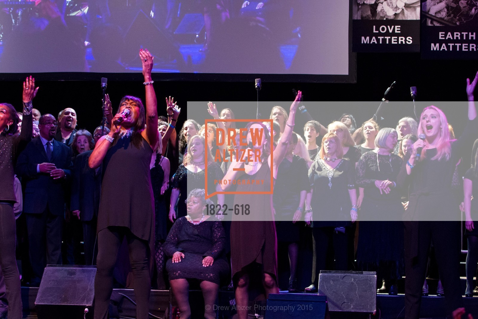 Performance, GLIDE's Annual Holiday Jam: Love Matters, The Warfield Theatre. 982 Market, December 3rd, 2015,Drew Altizer, Drew Altizer Photography, full-service agency, private events, San Francisco photographer, photographer california