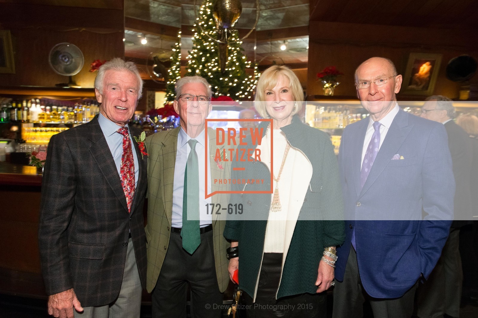Dan Kasper, Rich Guggenhime, Kaye Heafey, Richard Heafey, Shansby/Matarasso Holiday Lunch, Bimbo's 365 Club. 1025 Columbus Ave, December 4th, 2015,Drew Altizer, Drew Altizer Photography, full-service agency, private events, San Francisco photographer, photographer california