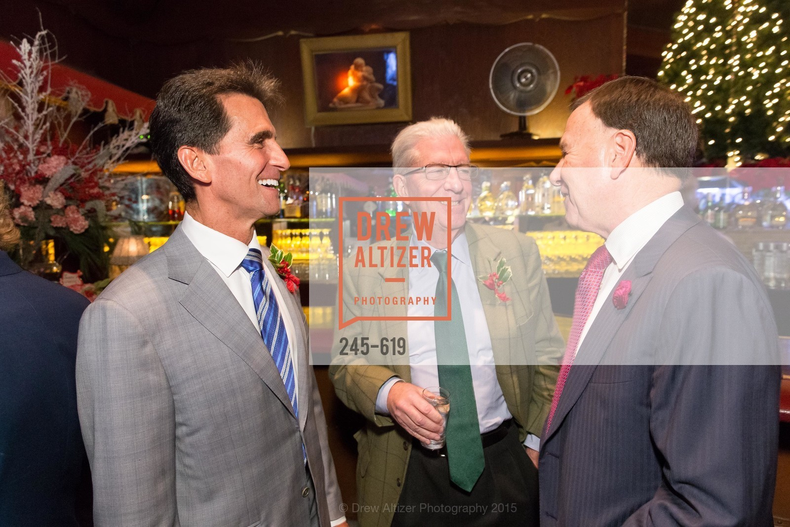 Mark Leno, Rich Guggenhime, Carl Pascarella, Shansby/Matarasso Holiday Lunch, Bimbo's 365 Club. 1025 Columbus Ave, December 4th, 2015,Drew Altizer, Drew Altizer Photography, full-service agency, private events, San Francisco photographer, photographer california