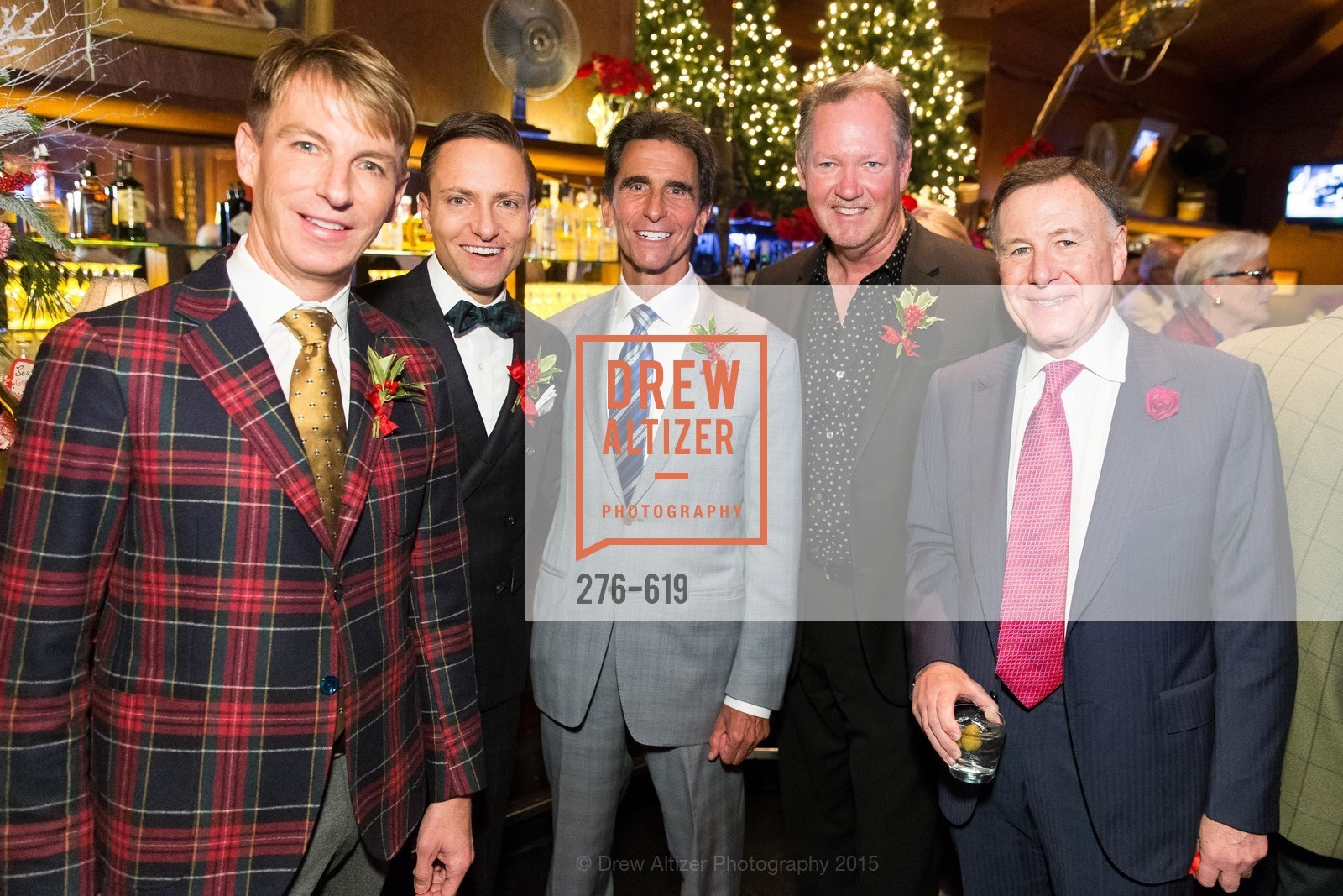 Jack Calhoun, Ken Fulk, Mark Leno, Michael Murphy, Carl Pascarella, Shansby/Matarasso Holiday Lunch, Bimbo's 365 Club. 1025 Columbus Ave, December 4th, 2015,Drew Altizer, Drew Altizer Photography, full-service agency, private events, San Francisco photographer, photographer california