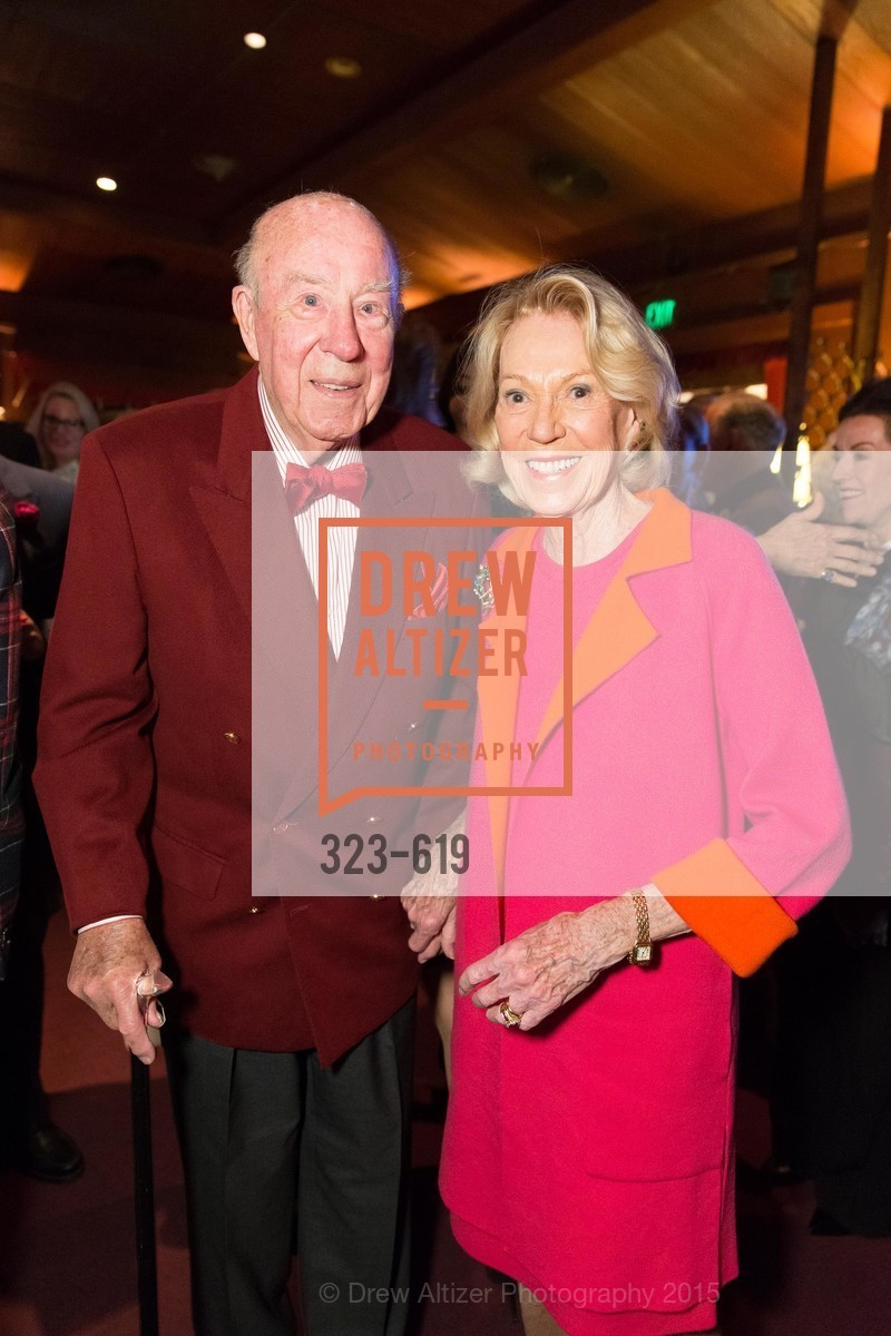 George Shultz, Charlotte Shultz, Shansby/Matarasso Holiday Lunch, Bimbo's 365 Club. 1025 Columbus Ave, December 4th, 2015,Drew Altizer, Drew Altizer Photography, full-service agency, private events, San Francisco photographer, photographer california