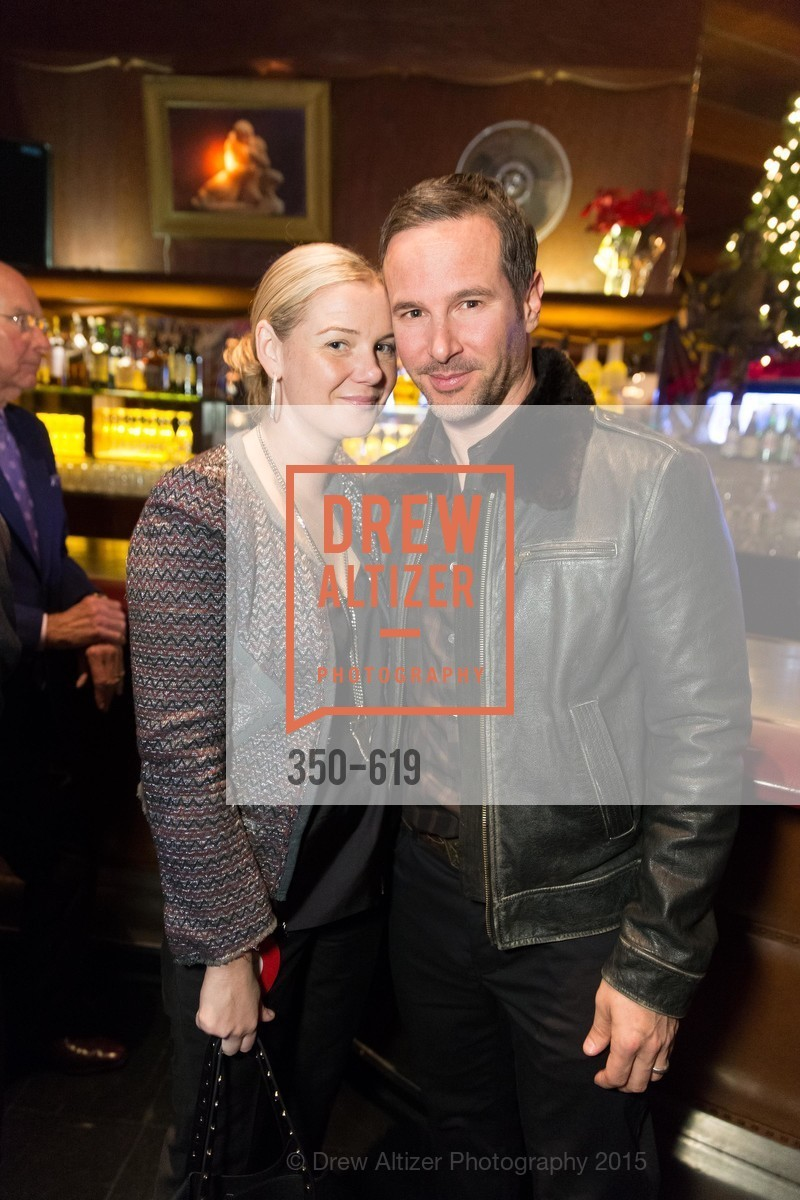 Anna Weinstein, James Nicholas, Shansby/Matarasso Holiday Lunch, Bimbo's 365 Club. 1025 Columbus Ave, December 4th, 2015,Drew Altizer, Drew Altizer Photography, full-service agency, private events, San Francisco photographer, photographer california
