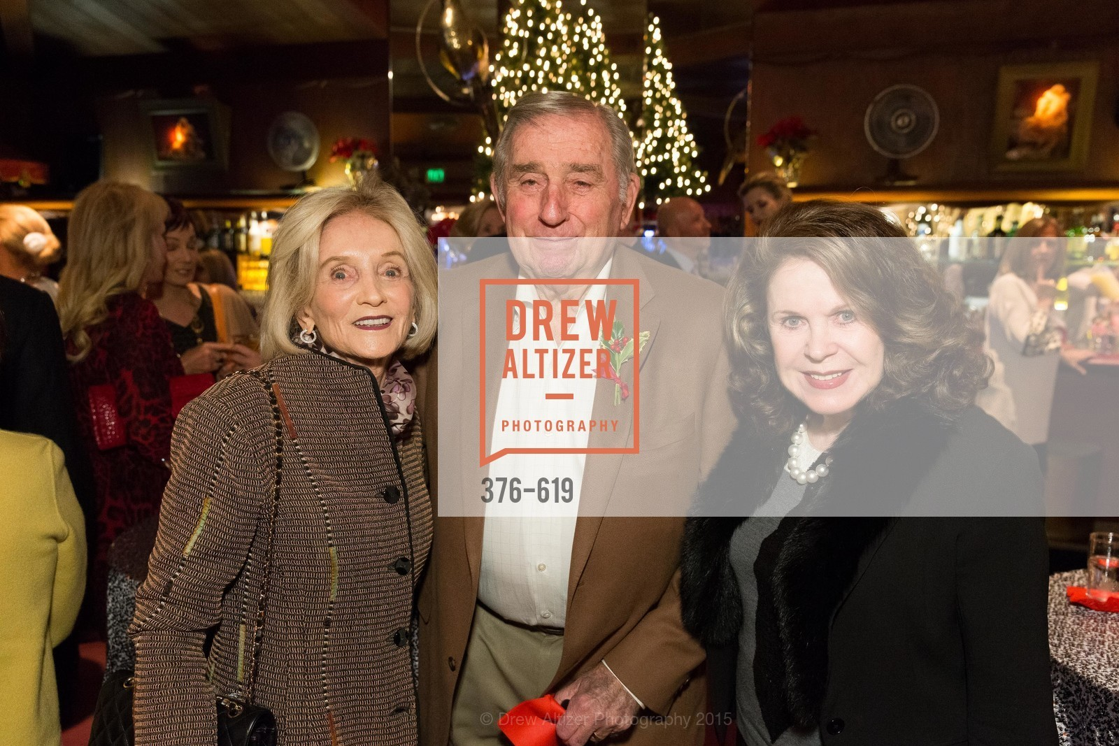 Audrey Sockolov, Robert Sockolov, Ann Caen, Shansby/Matarasso Holiday Lunch, Bimbo's 365 Club. 1025 Columbus Ave, December 4th, 2015,Drew Altizer, Drew Altizer Photography, full-service event agency, private events, San Francisco photographer, photographer California
